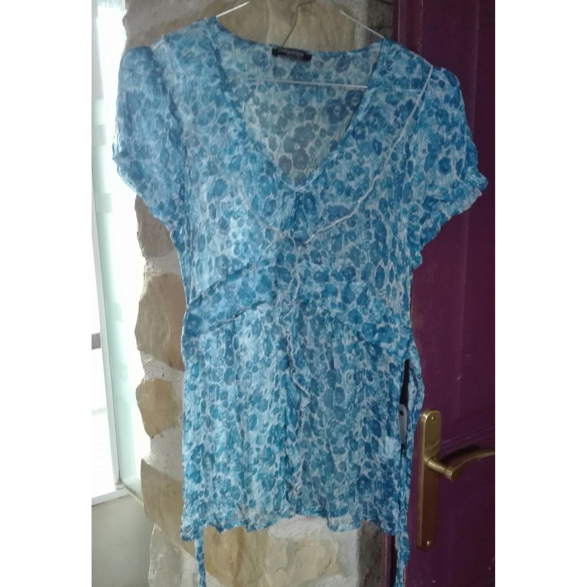 Chemisier SINÉQUANONE Bleu, bleu marine, bleu turquoise