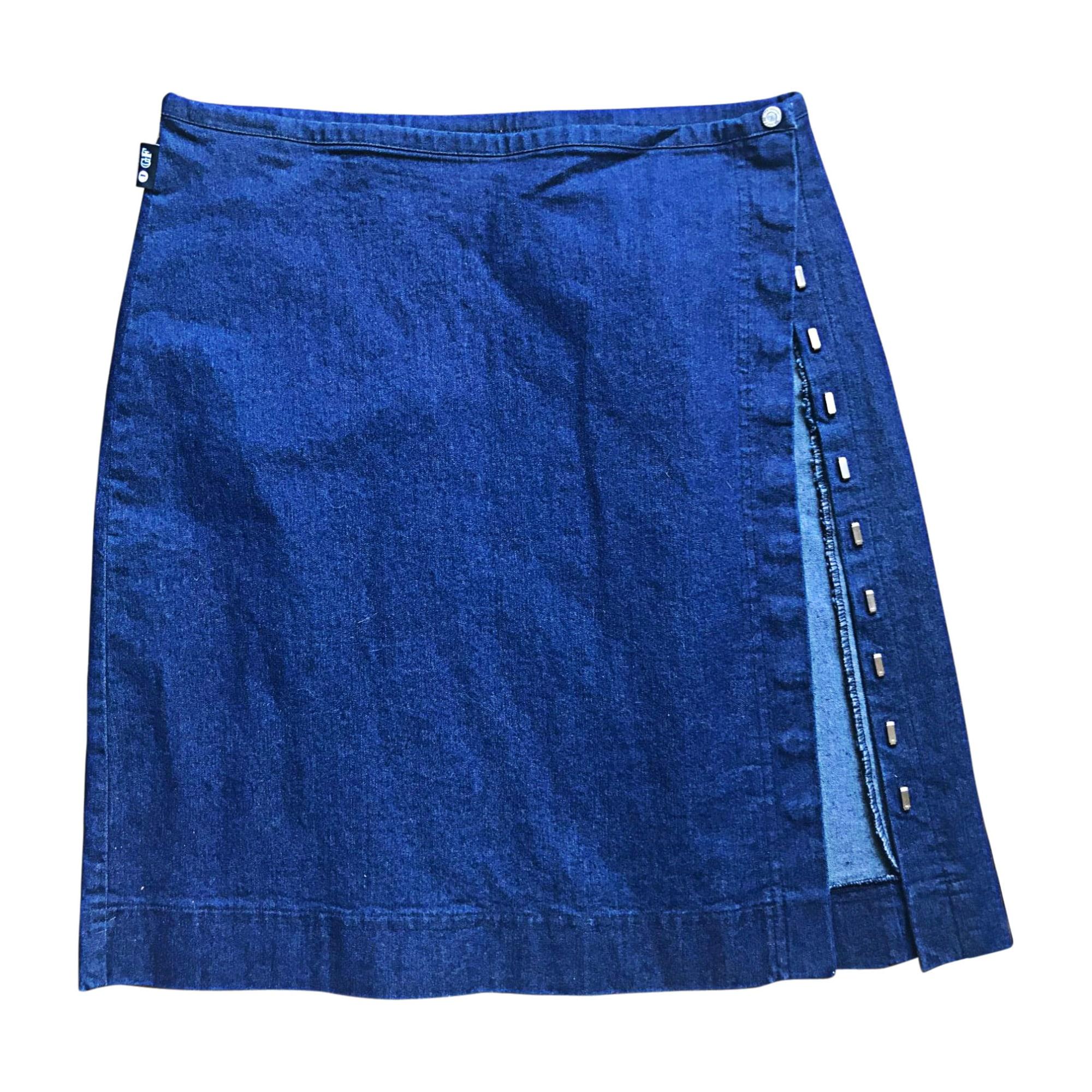 Jupe en jean GIANFRANCO FERRE Bleu, bleu marine, bleu turquoise