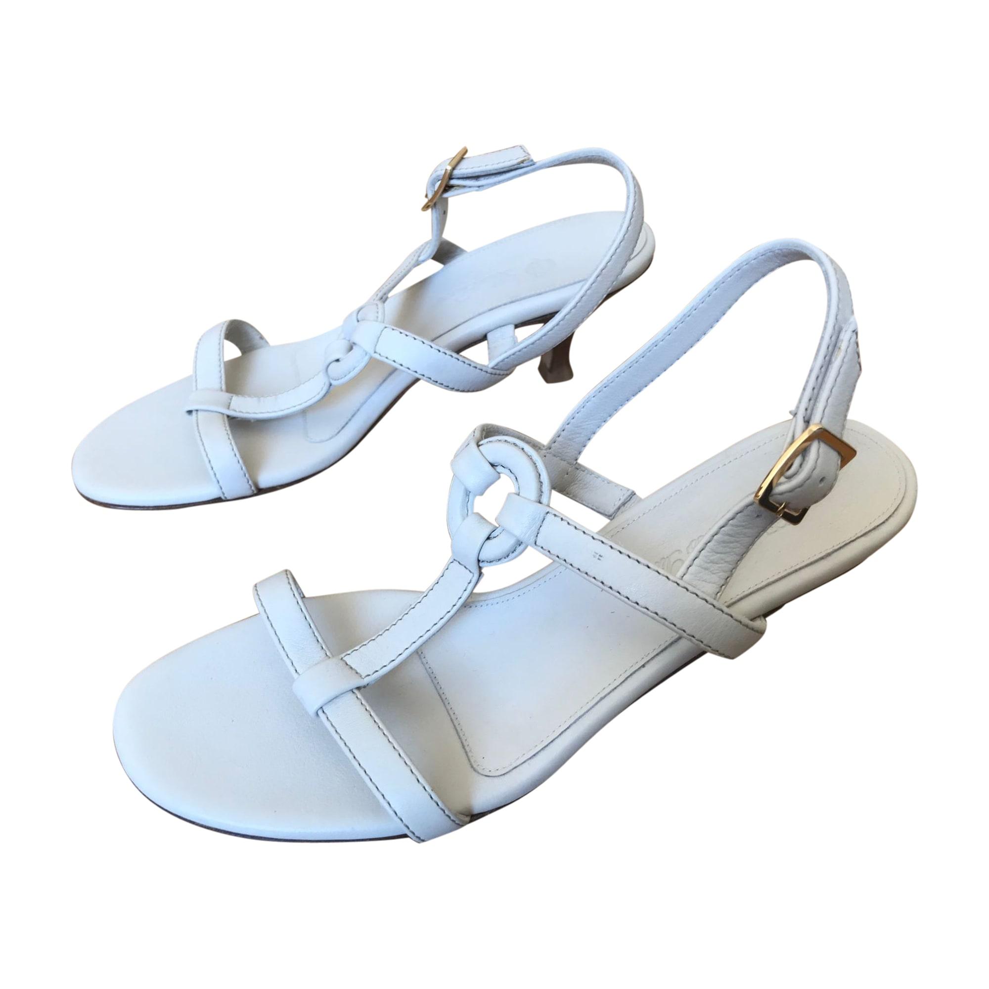 Sandales à talons LORO PIANA Beige, camel