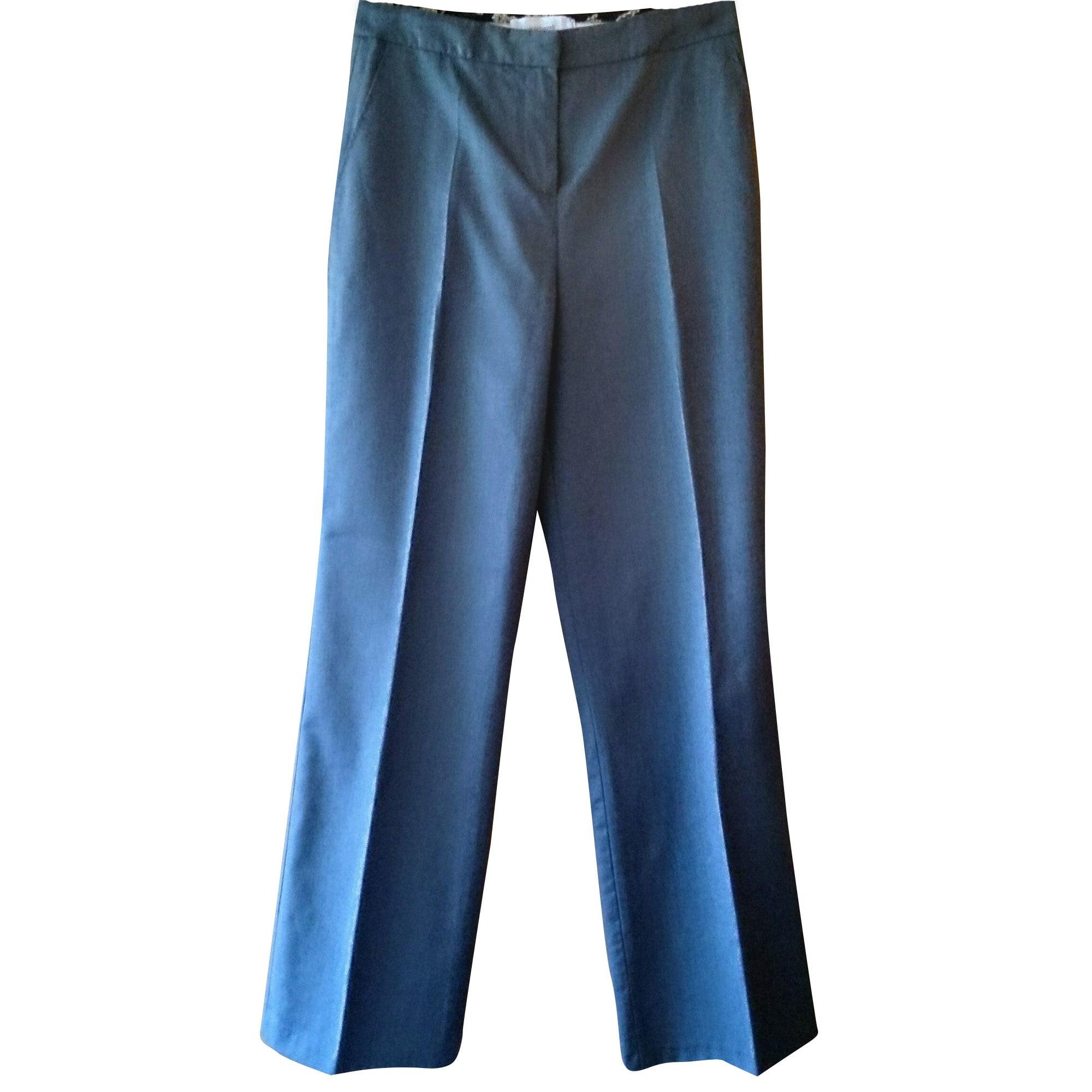 Pantalon droit CACHAREL Gris, anthracite