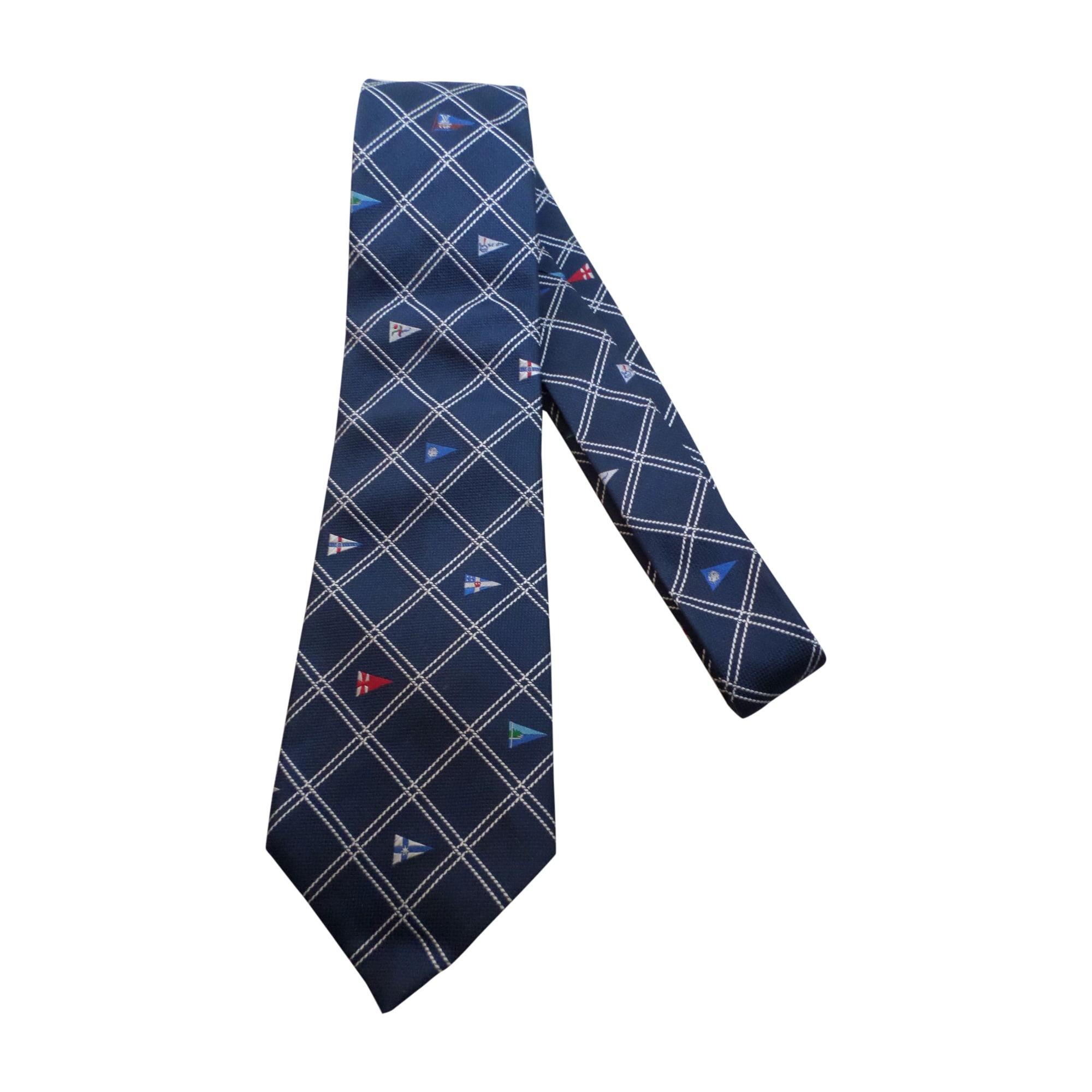 Cravate LOUIS VUITTON Bleu, bleu marine, bleu turquoise