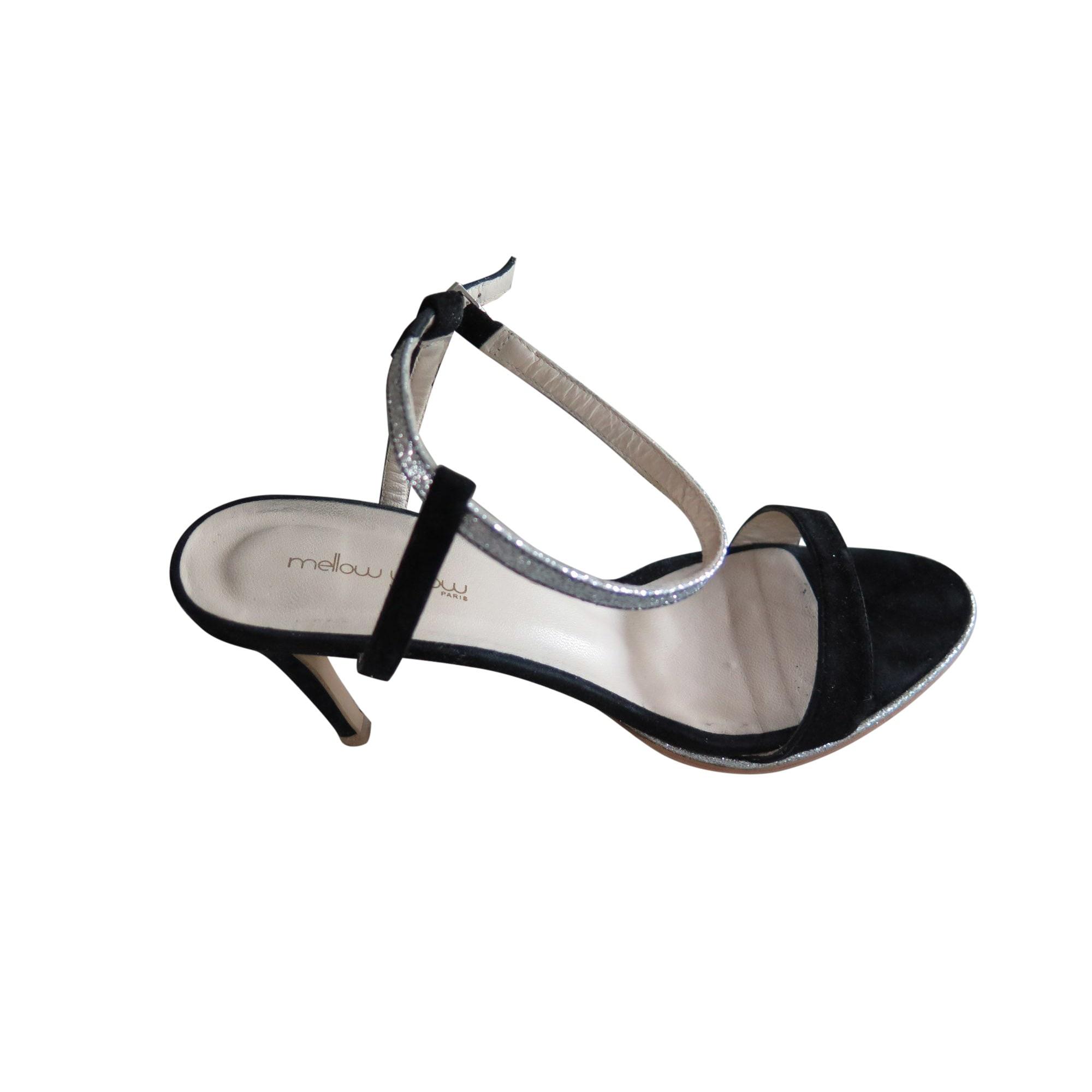 Sandales à talons MELLOW YELLOW Argenté, acier