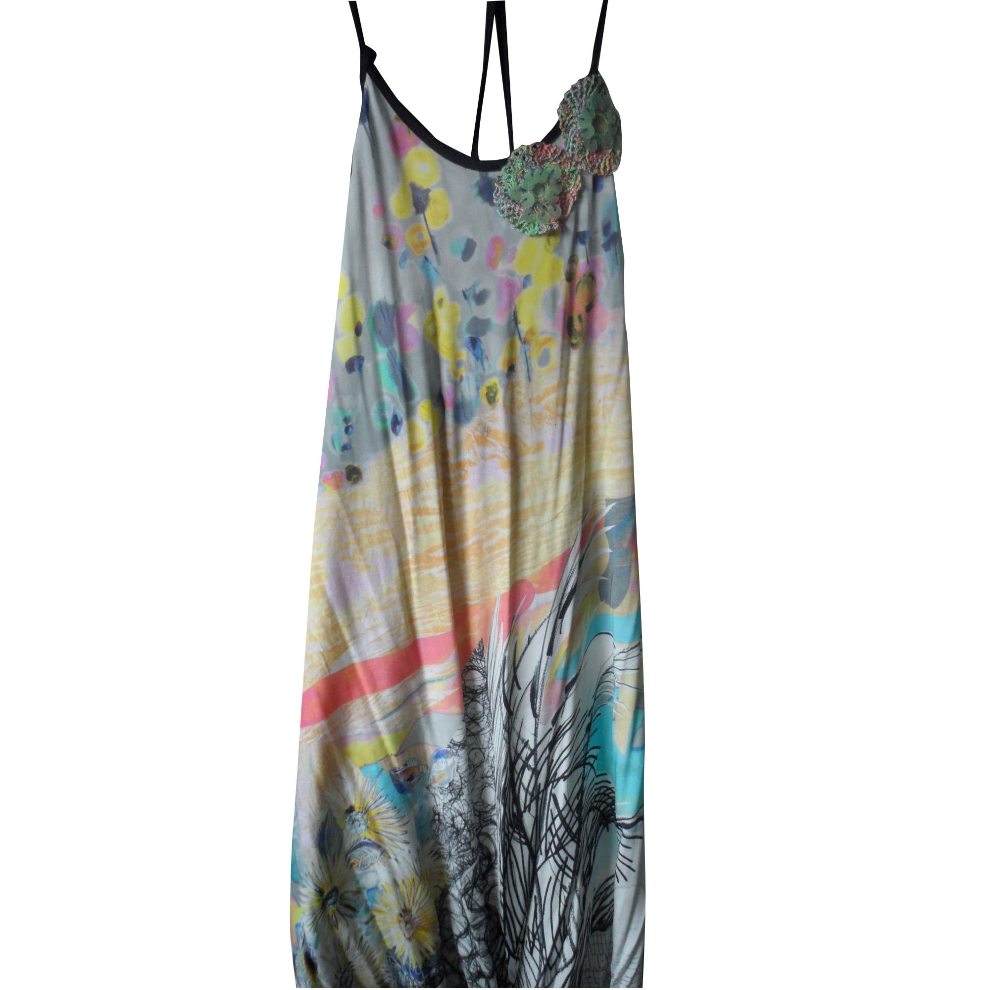 Robe dos nu SAVE THE QUEEN Multicouleur