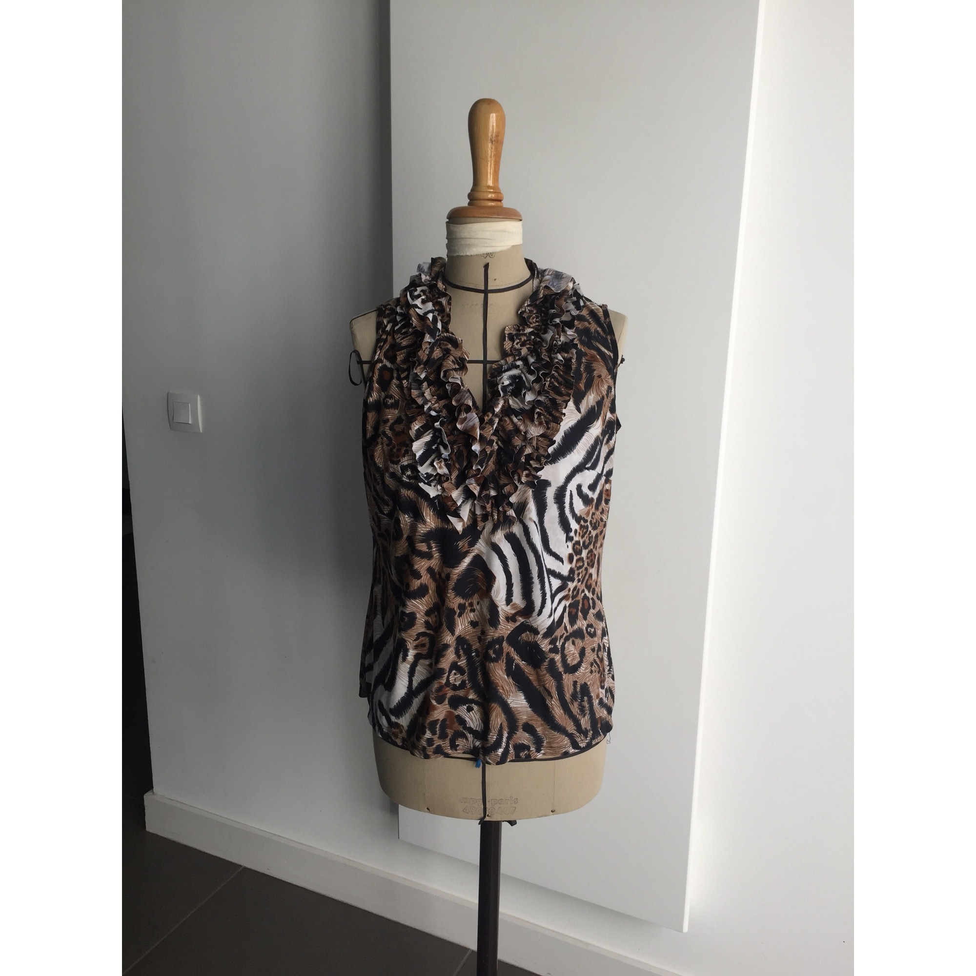 Top, tee-shirt MILANO Marron