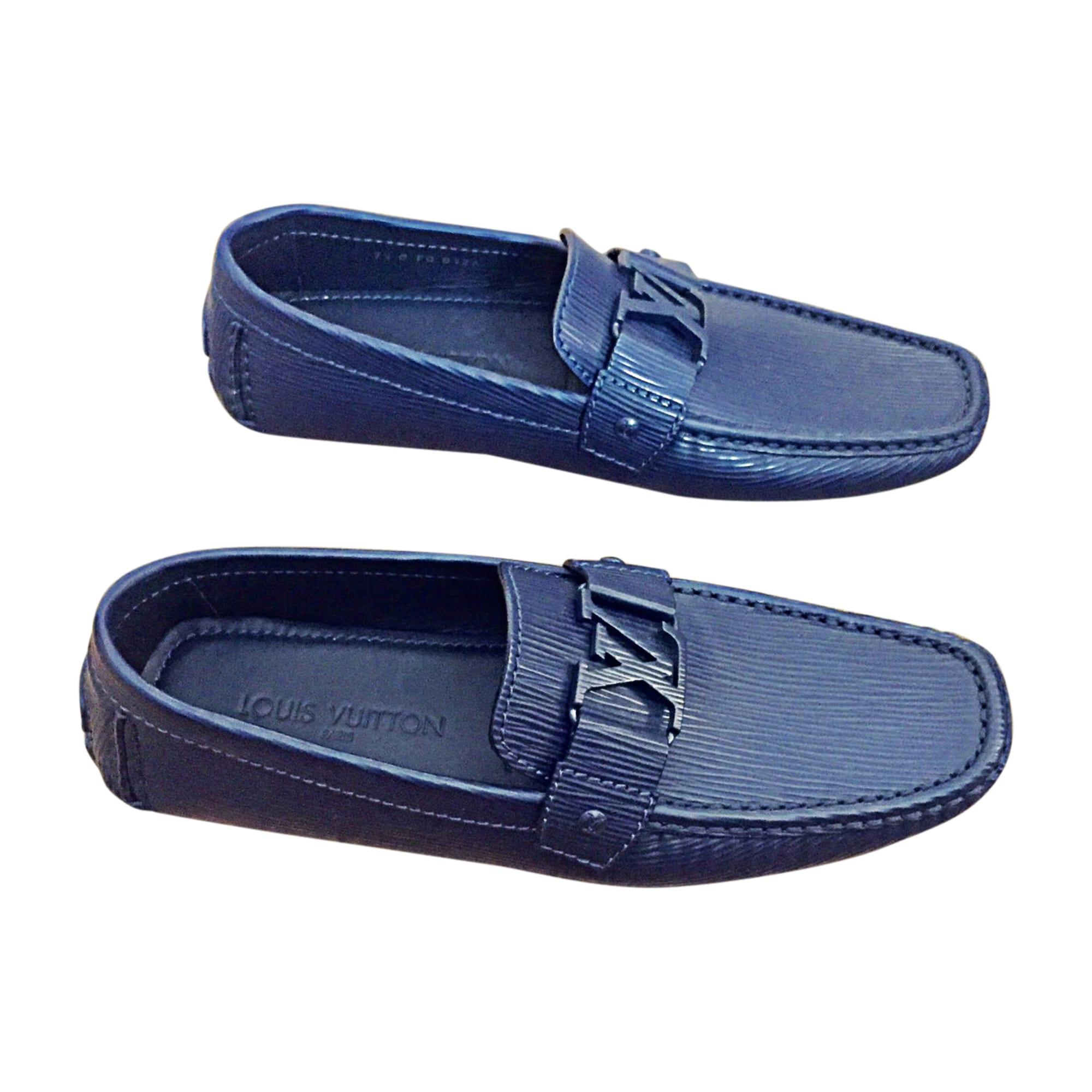 Loafers LOUIS VUITTON 41,5 blue - 7893712