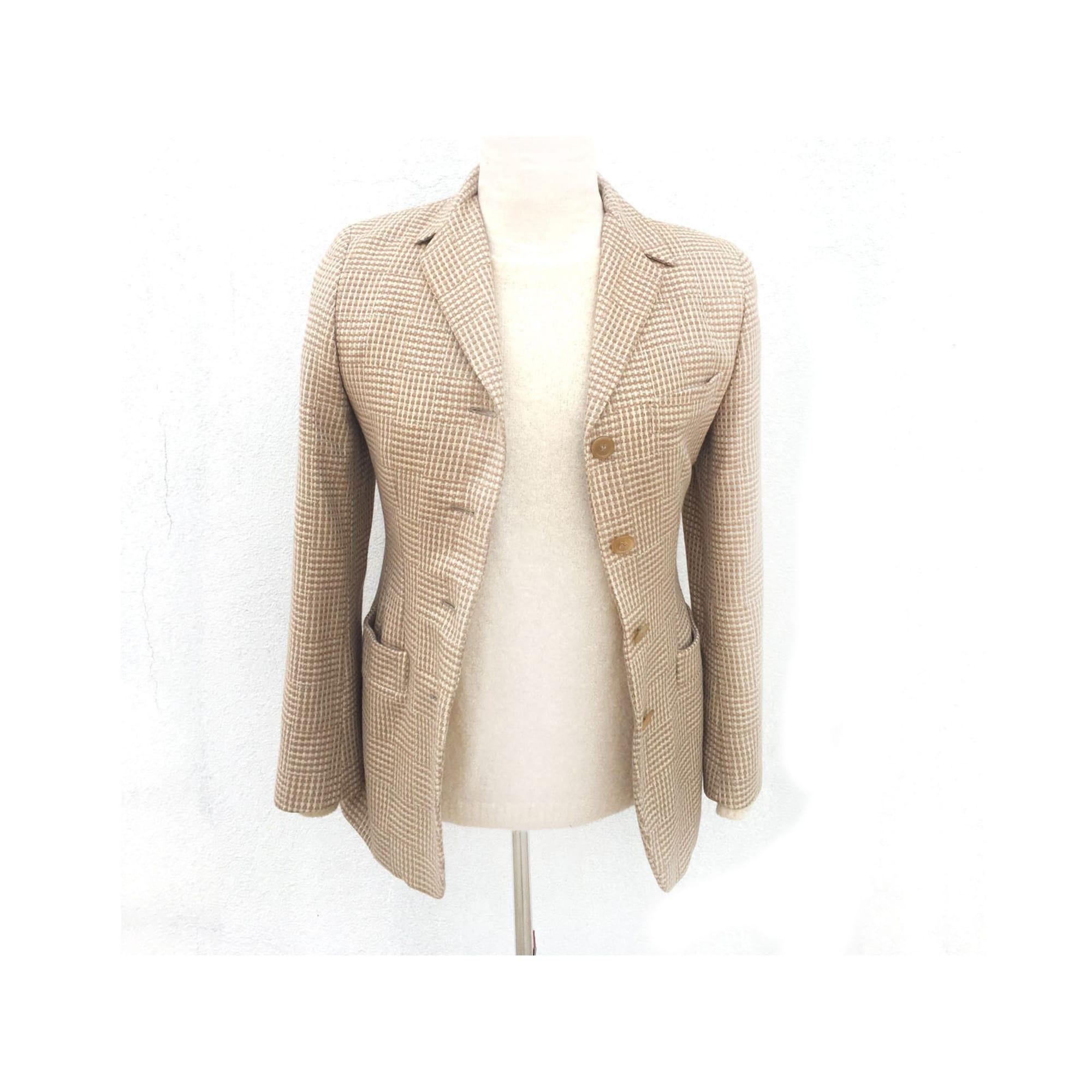 Blazer, veste tailleur ANTONIO FUSCO Beige, camel