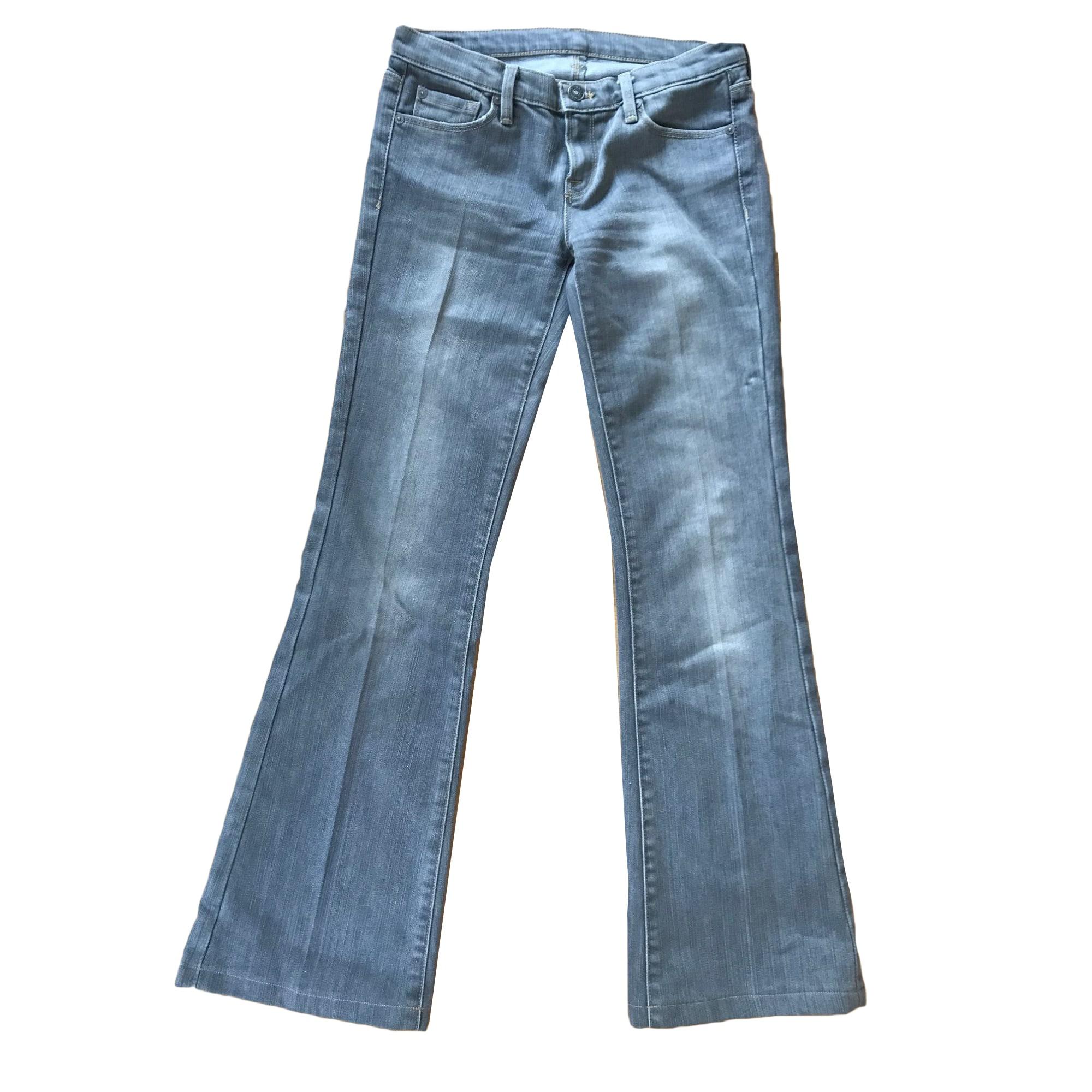 Jeans évasé, boot-cut 7 FOR ALL MANKIND Gris, anthracite
