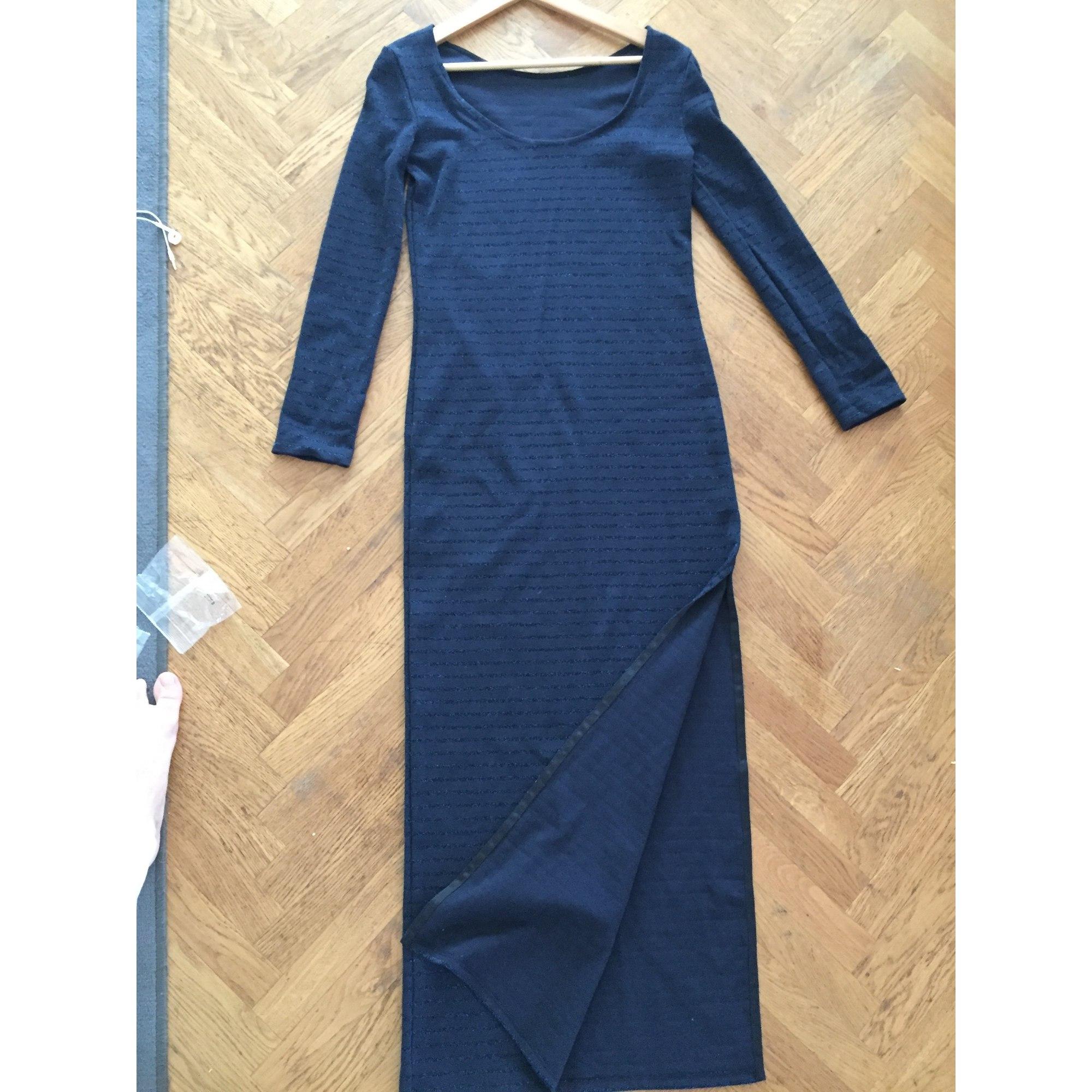 Robe Longue Petit Bateau 36 S T1 Bleu 7895565