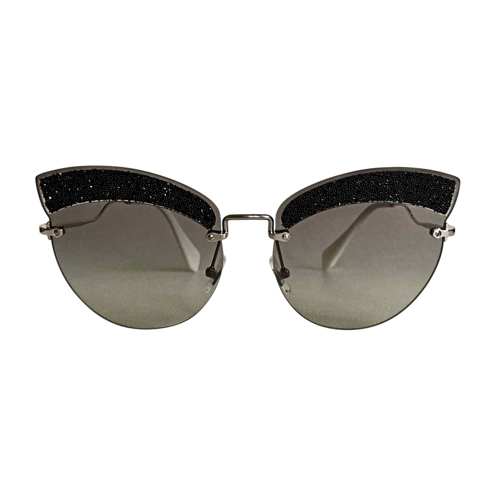 Sunglasses MIU MIU Black