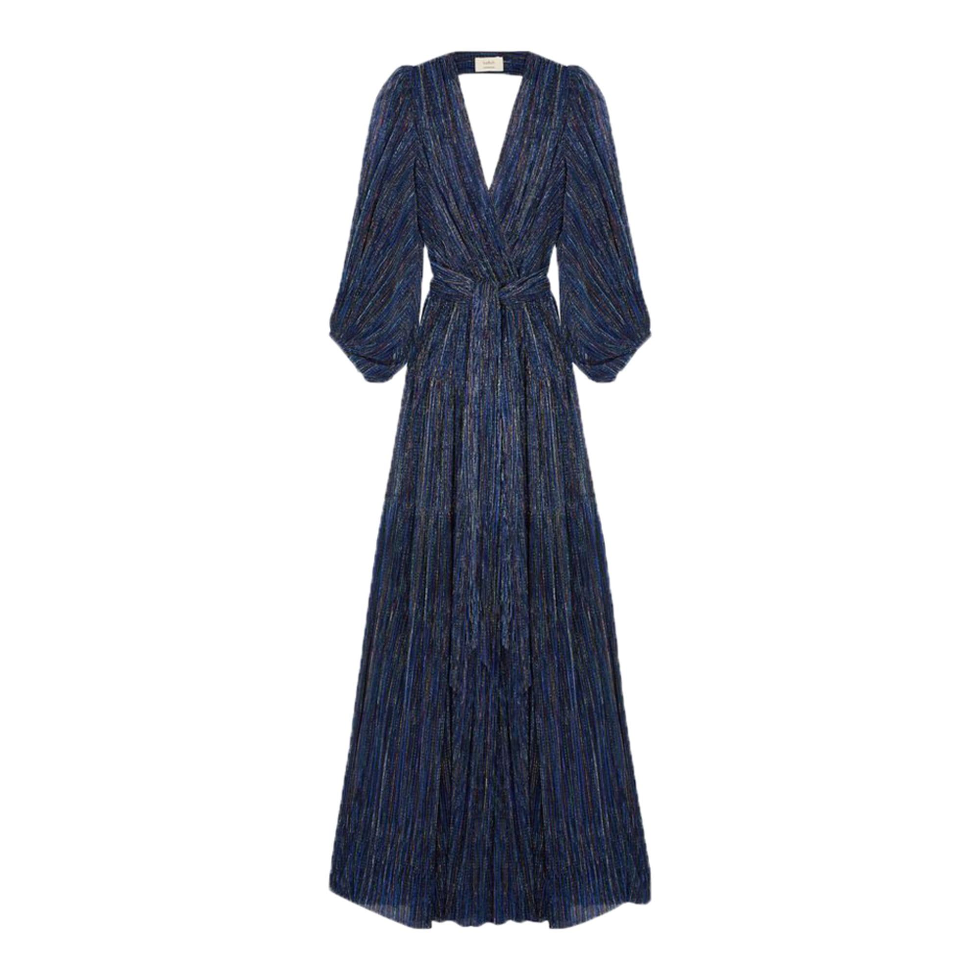 Robe Longue Ba Sh 36 S T1 Bleu 7906598