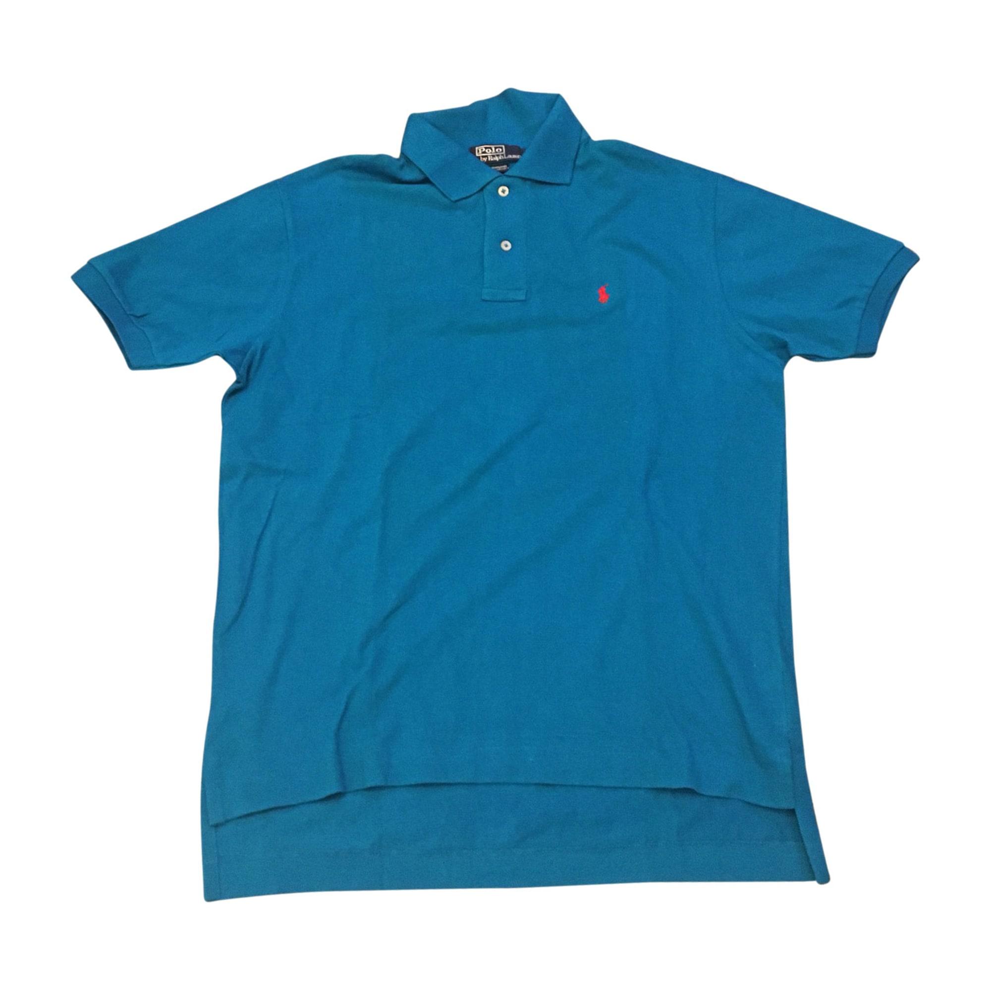 Polo RALPH LAUREN Bleu, bleu marine, bleu turquoise