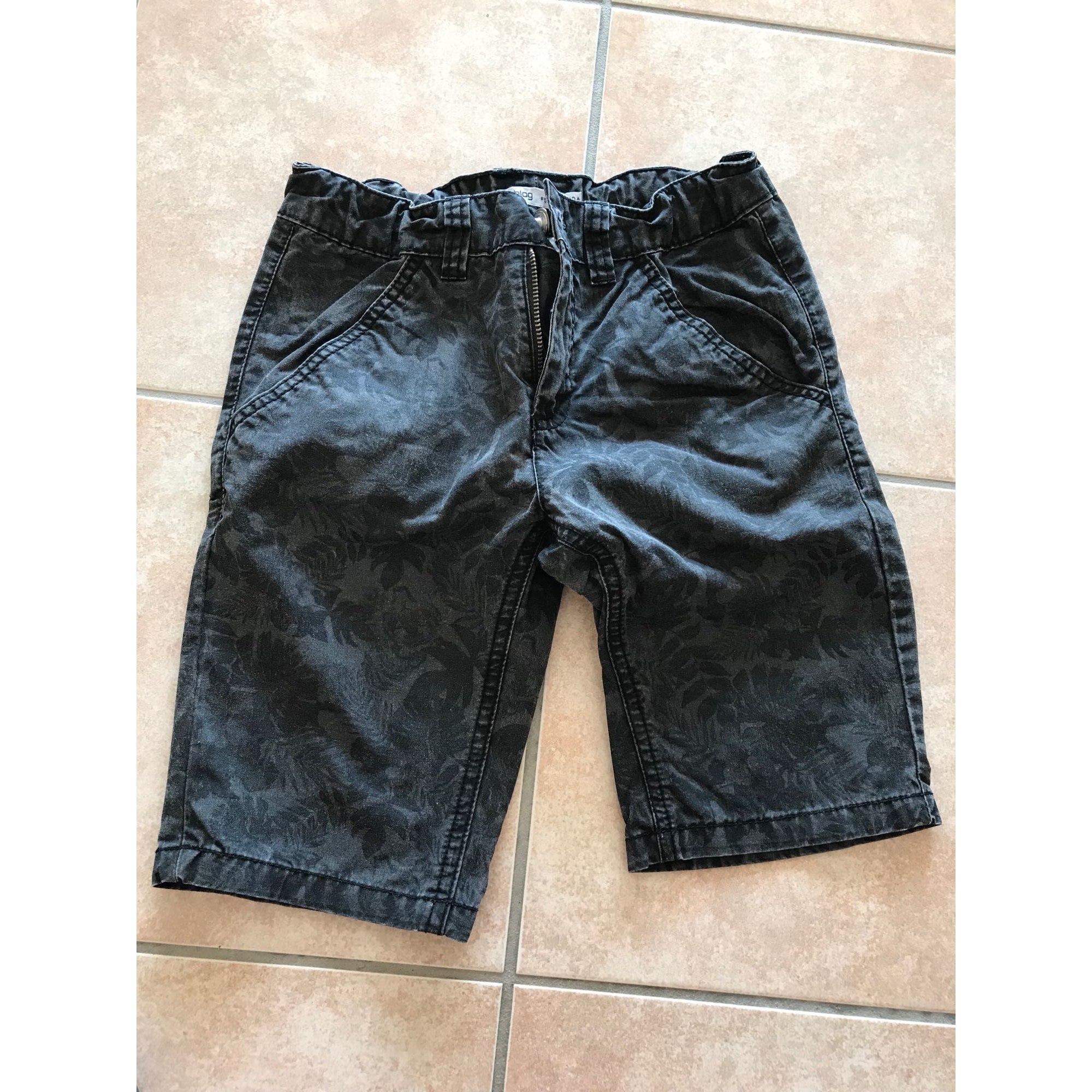 Cropped Pants GÉMO Black