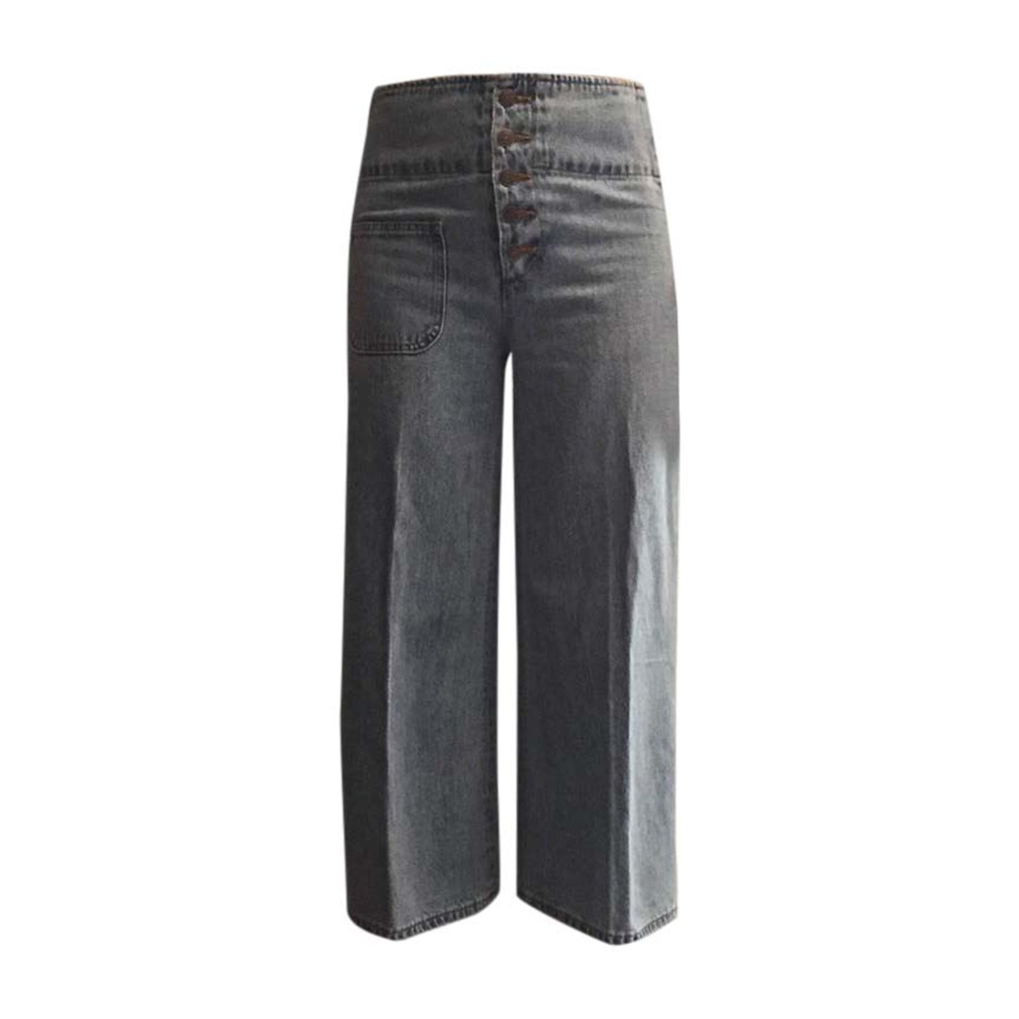 Jeans évasé, boot-cut MARC JACOBS Bleu, bleu marine, bleu turquoise