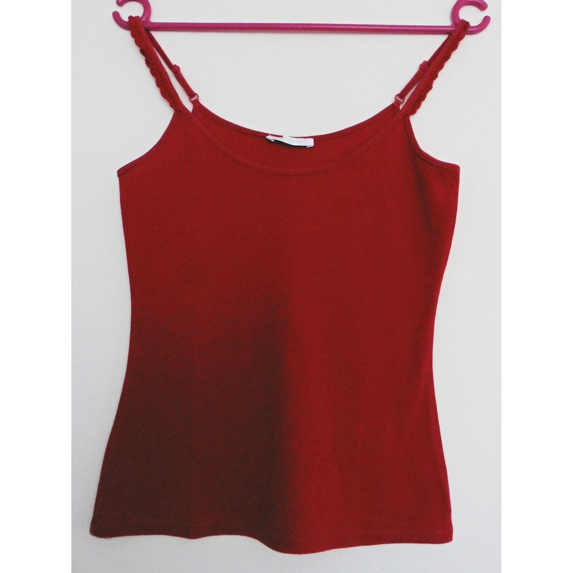 Top, tee-shirt PROMOD Rouge, bordeaux