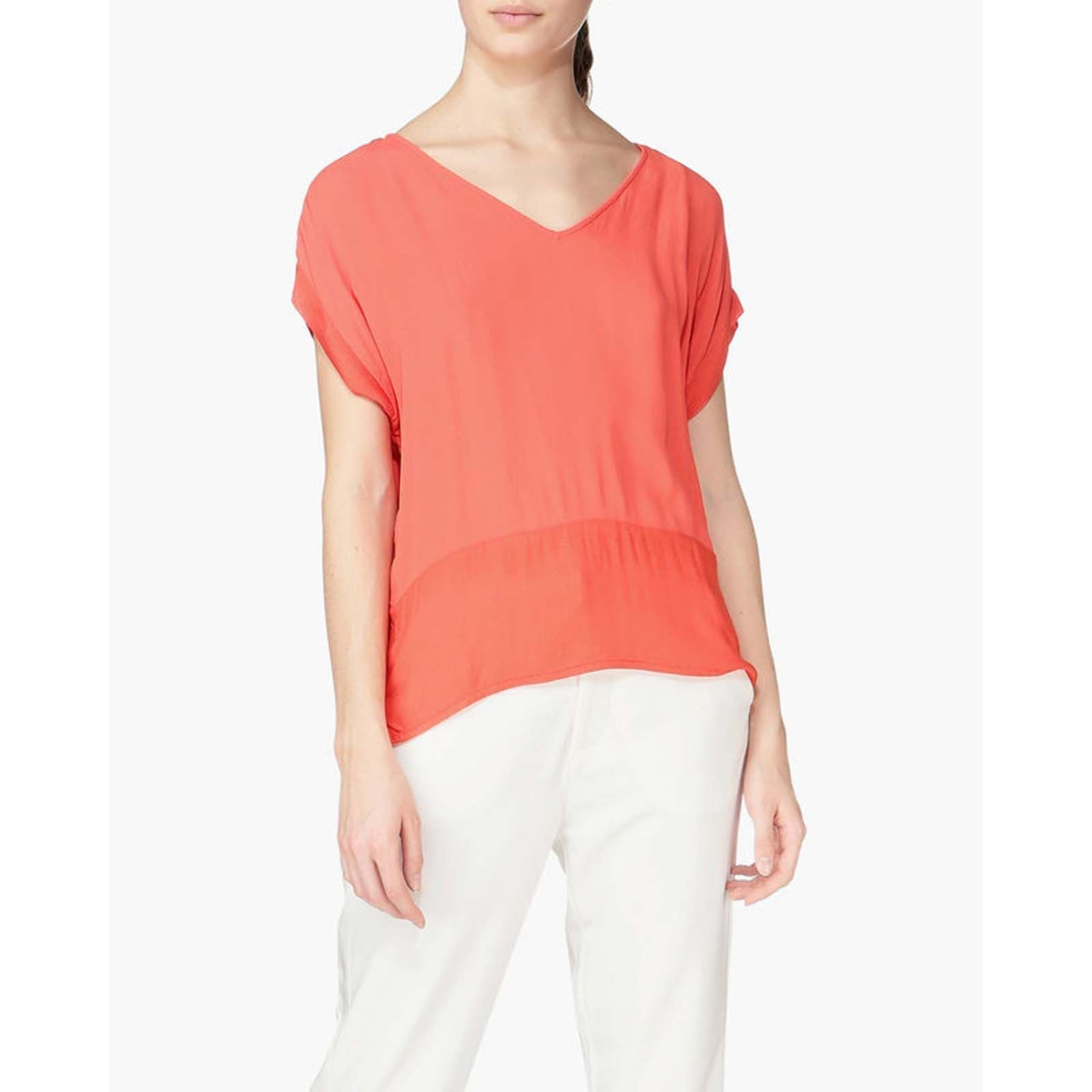Top, tee-shirt VILA Orange