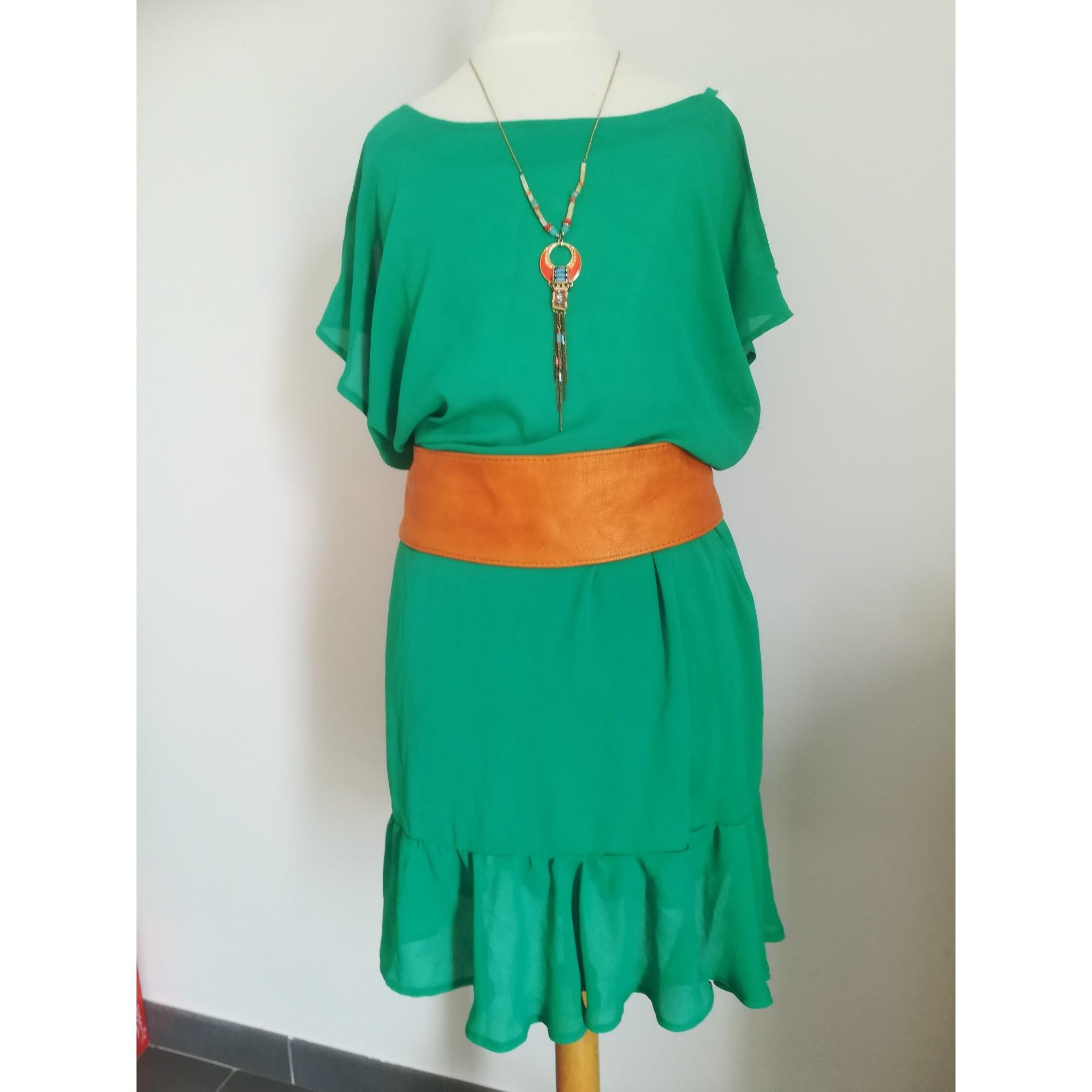 Robe courte STRASS X.CLUSIVE Vert