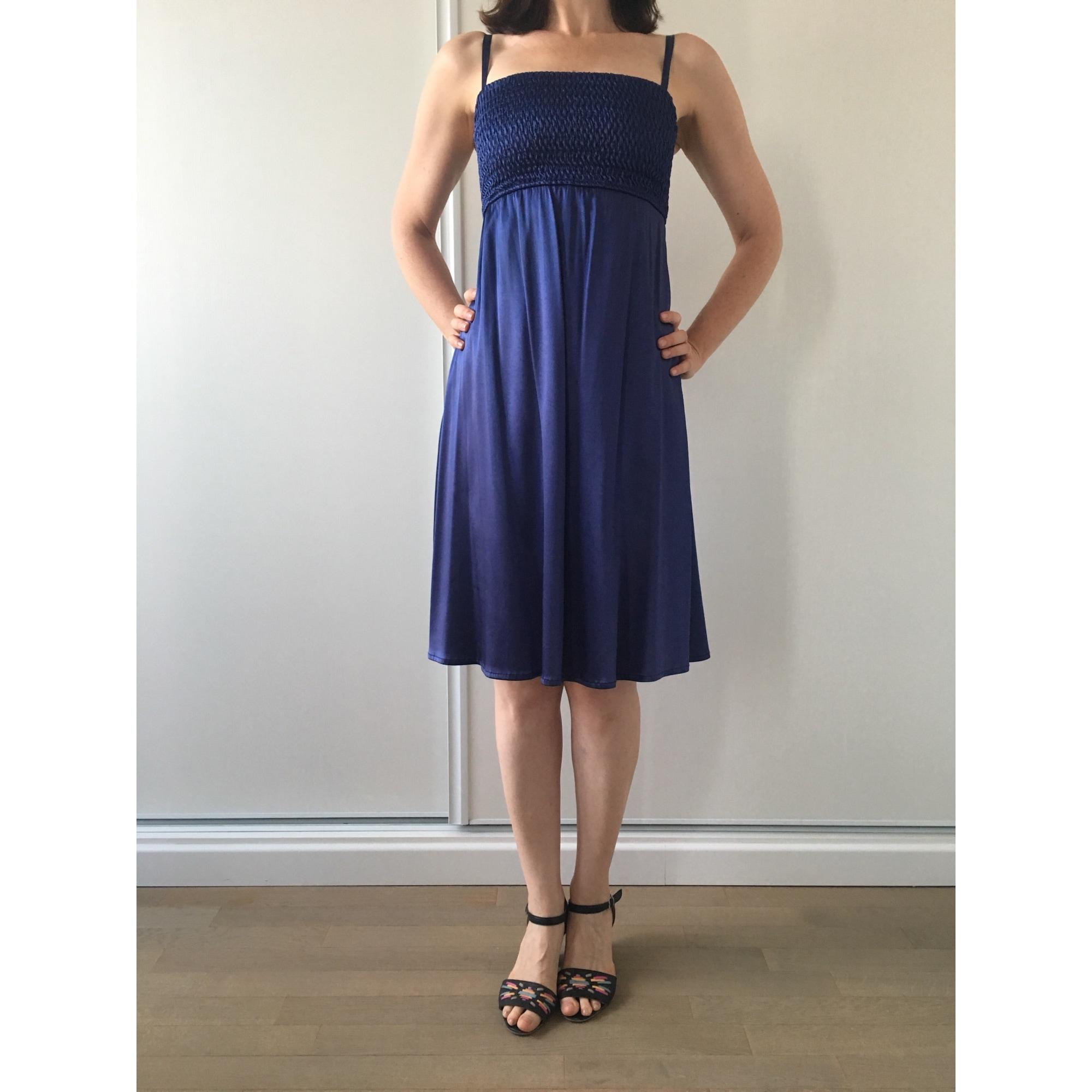 Robe mi-longue WHO'S WHO Bleu, bleu marine, bleu turquoise
