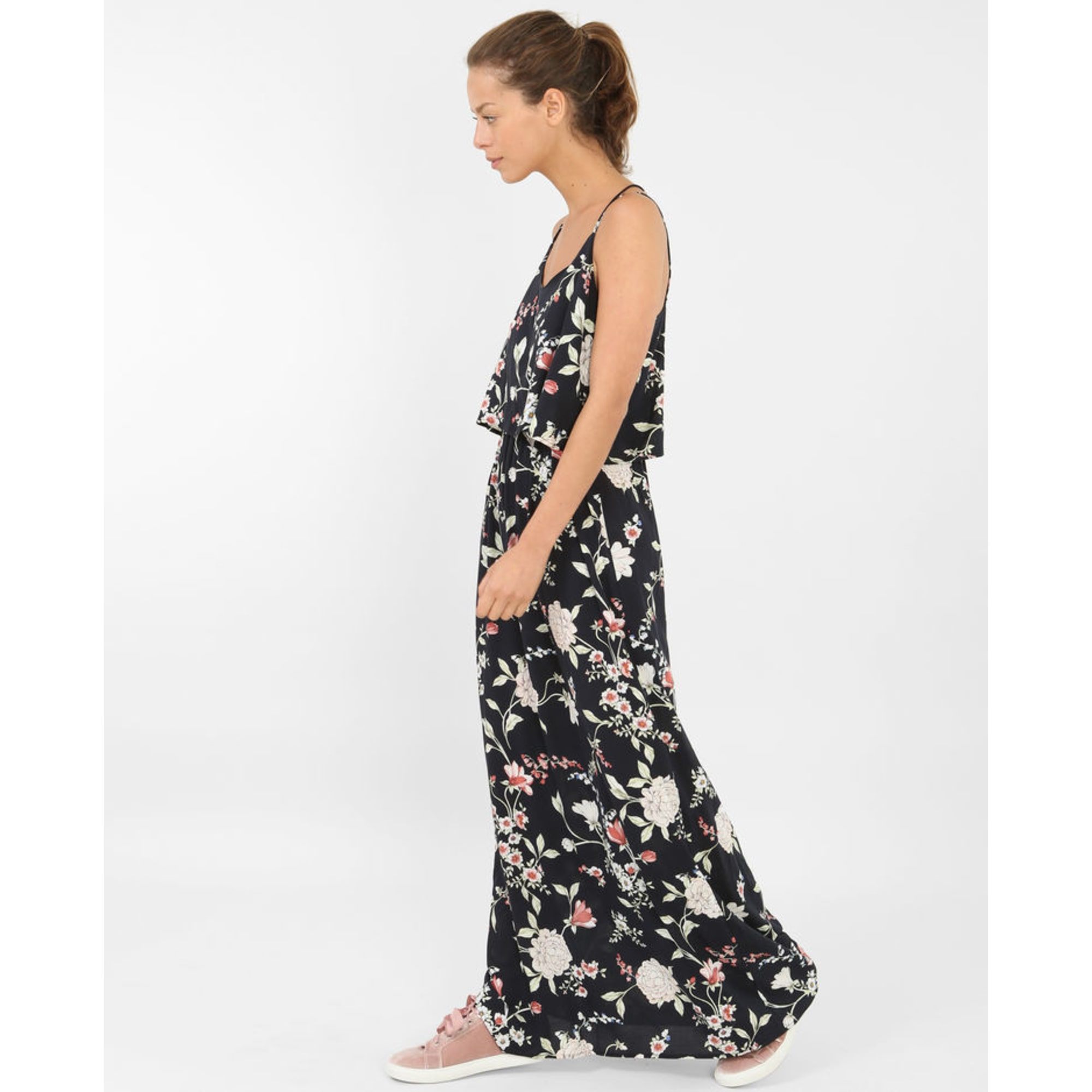 Robe Longue Pimkie 40 L T3 Noir Vendu Par Nolwenn 23441702 7959826