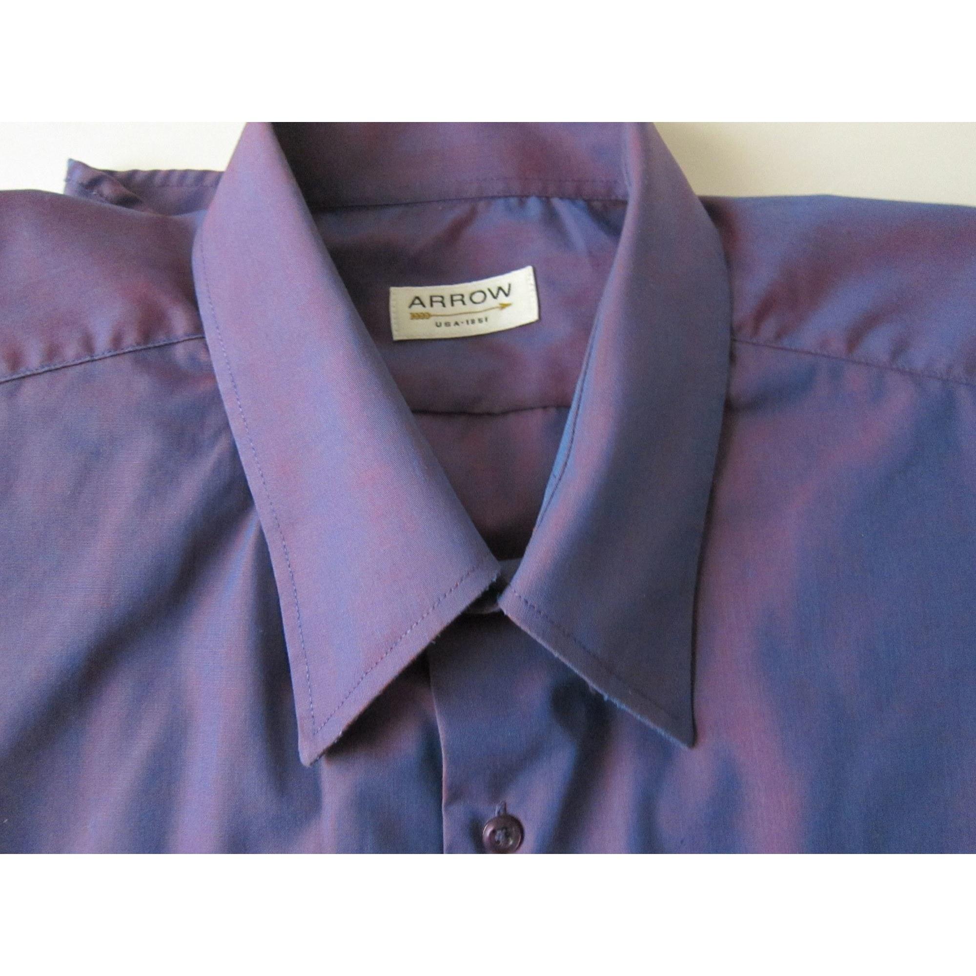 Chemise ARROW Violet, mauve, lavande