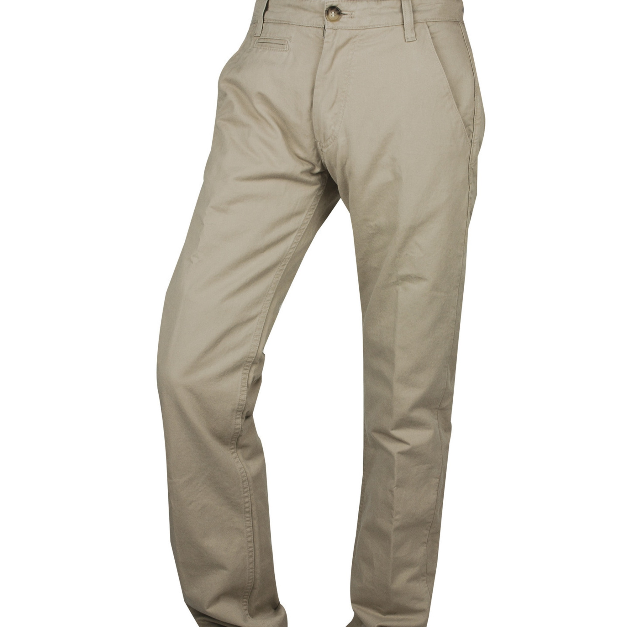 Pantalon droit ADIDAS Beige, camel