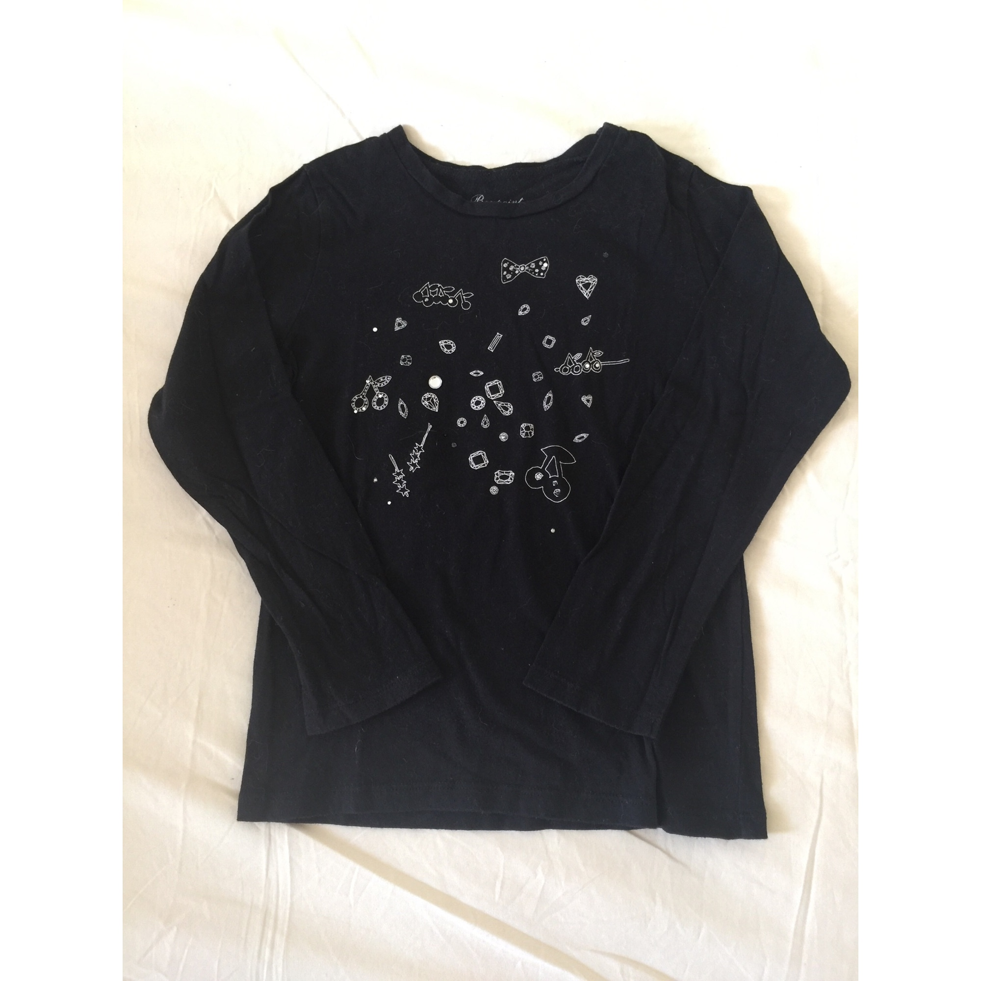 Top, Tee-shirt BONPOINT Noir