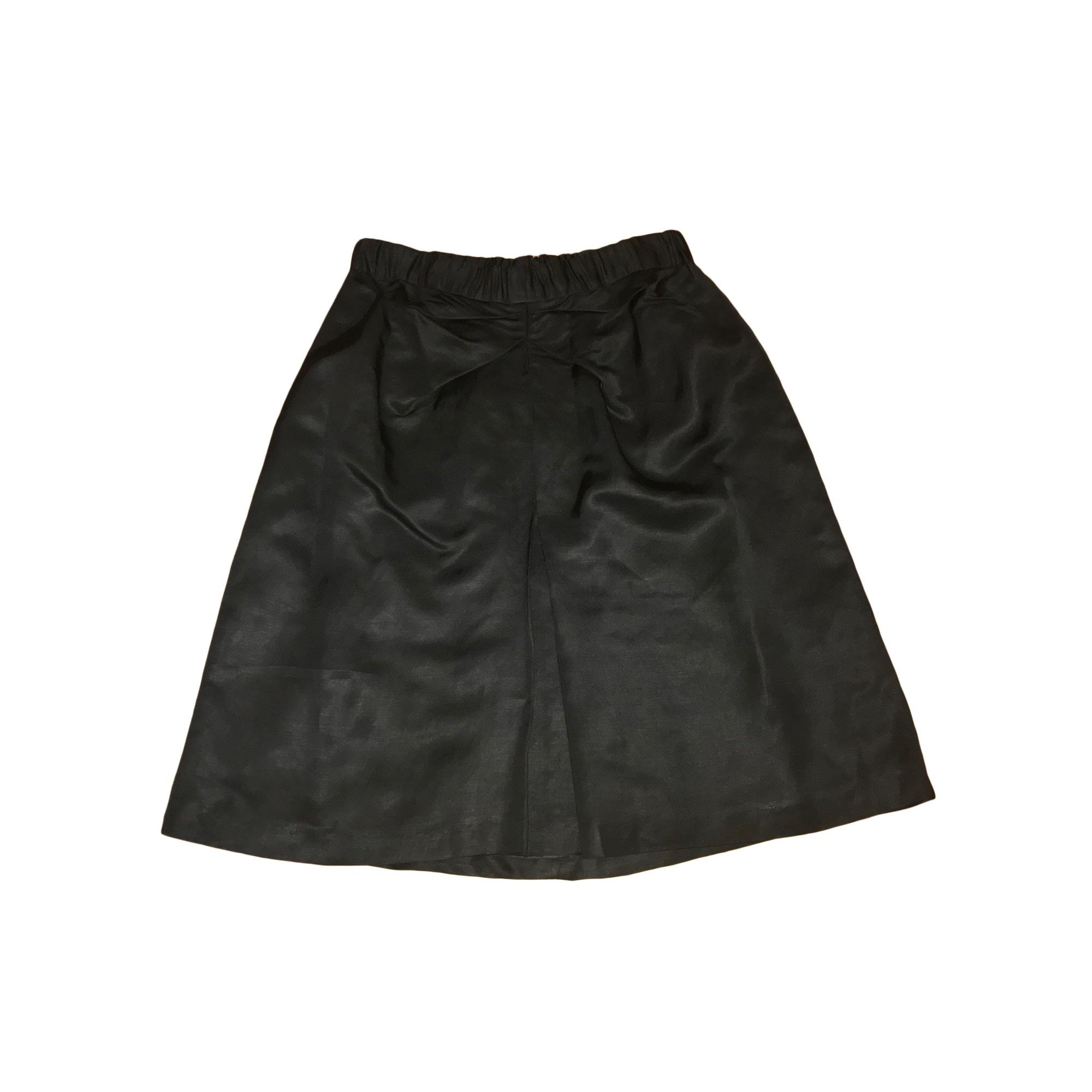 Jupe mi-longue BRUUNS BAZAAR Noir