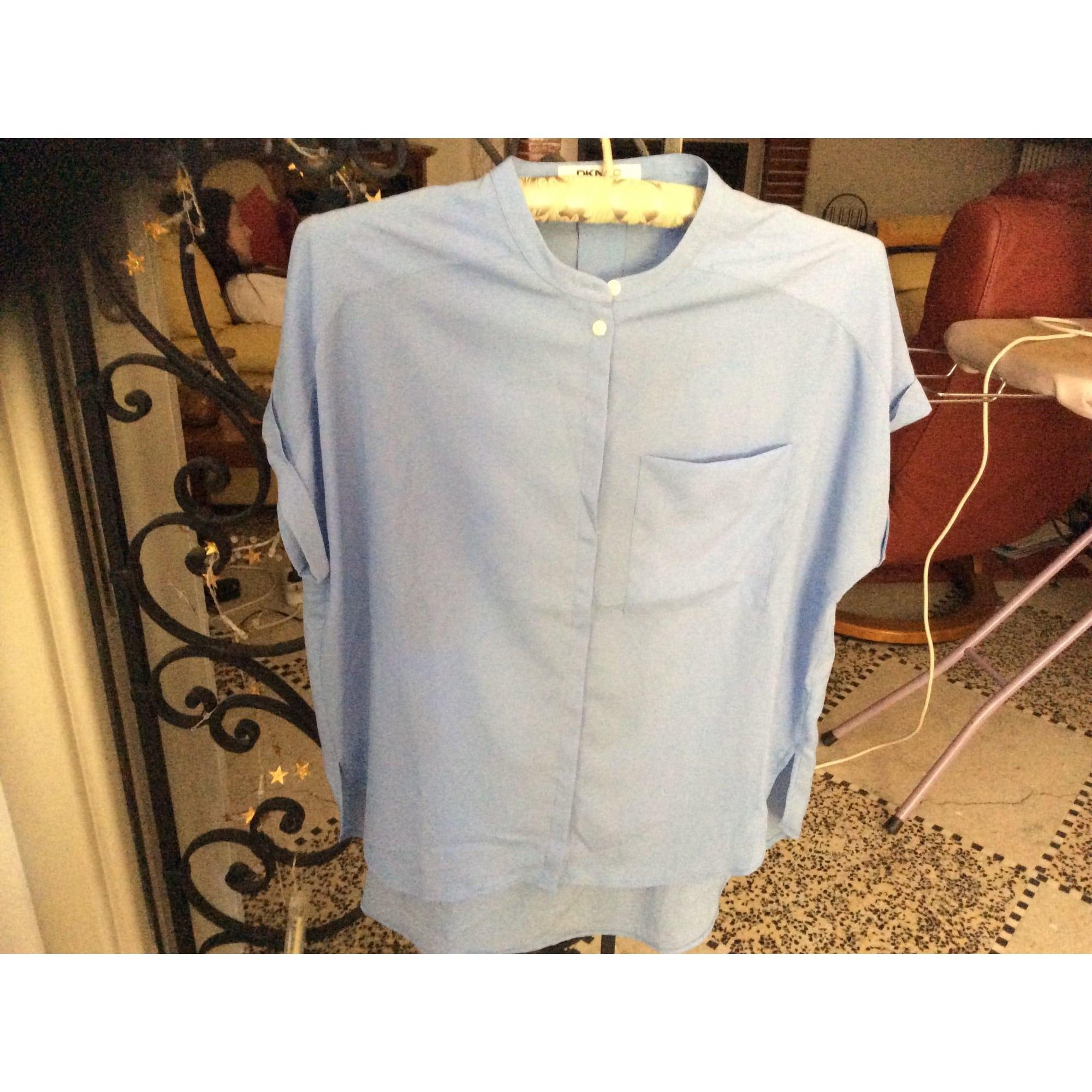 Blouse DKNY Bleu, bleu marine, bleu turquoise