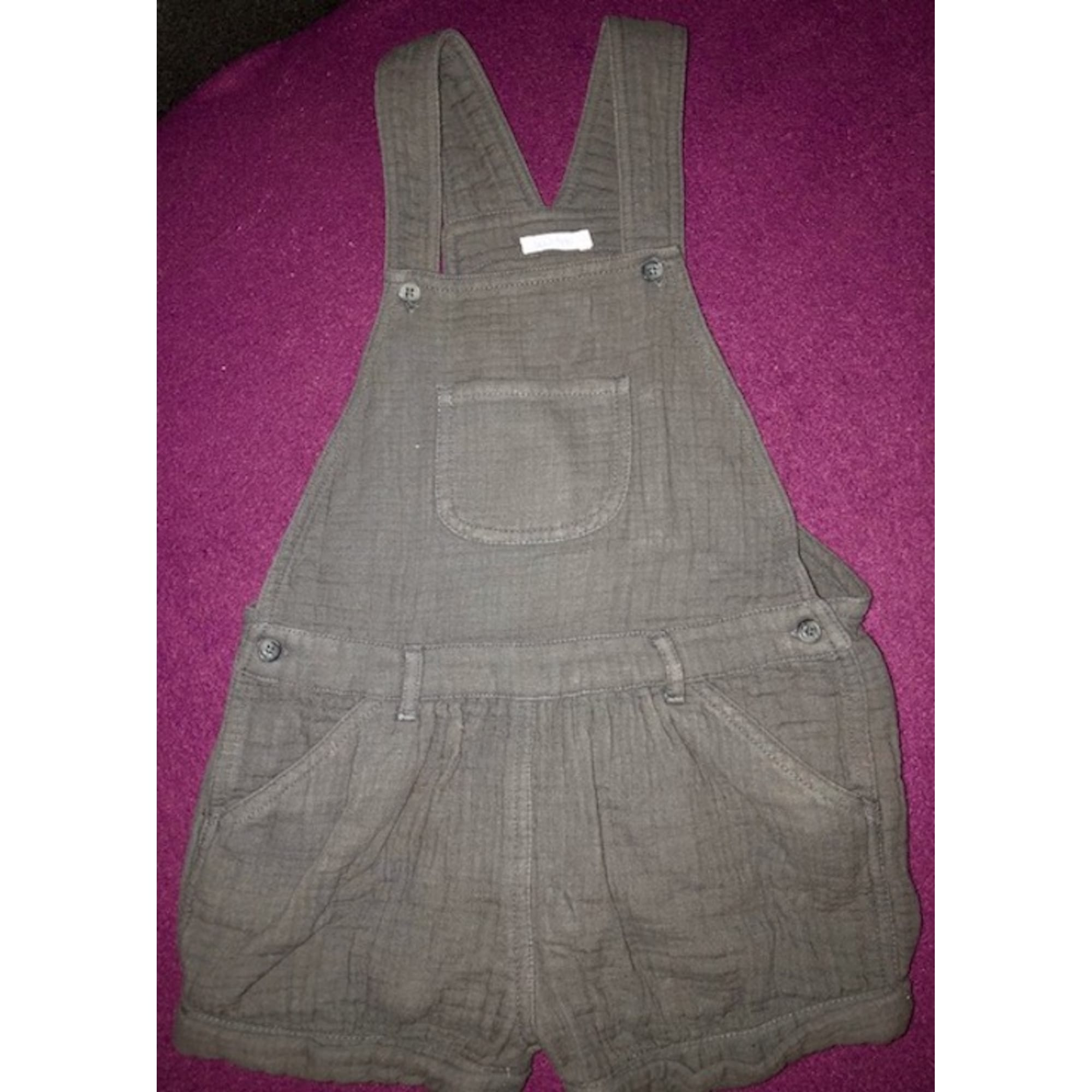 Short Overalls BOUT'CHOU Gray, charcoal