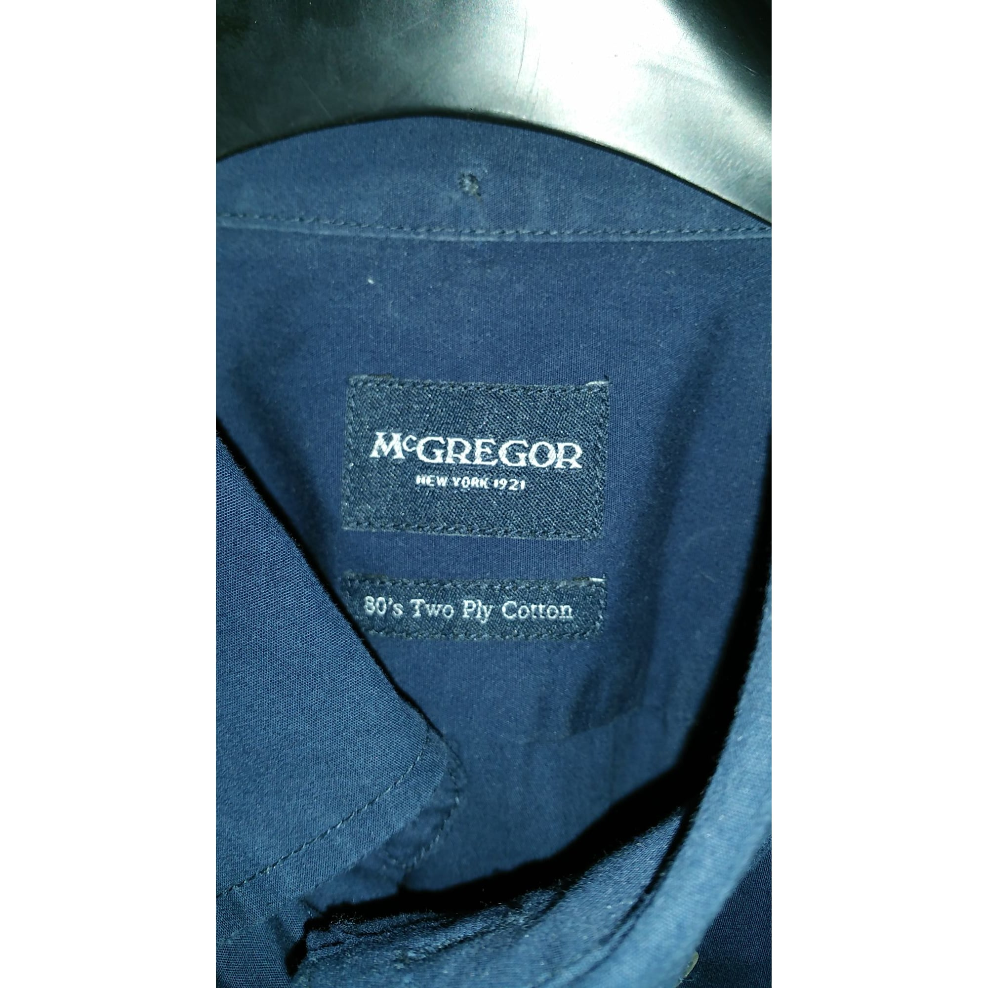 Chemise MC GREGOR Bleu, bleu marine, bleu turquoise