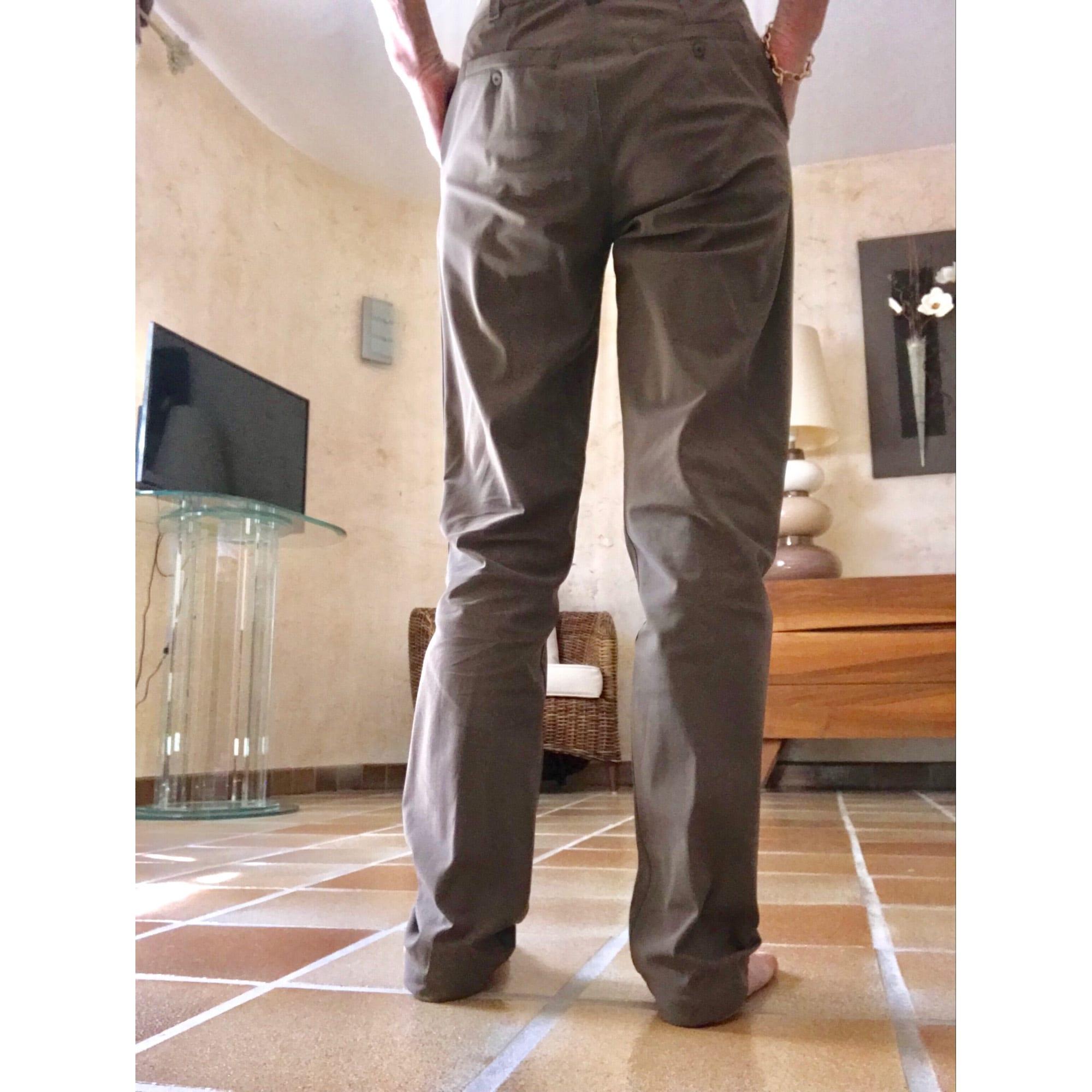 Pantalon droit INDIES Marron