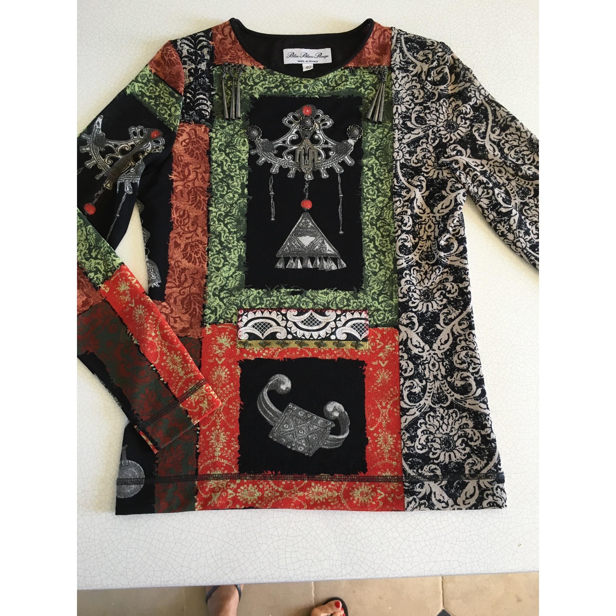 Top, tee-shirt BLEU BLANC ROUGE Multicouleur