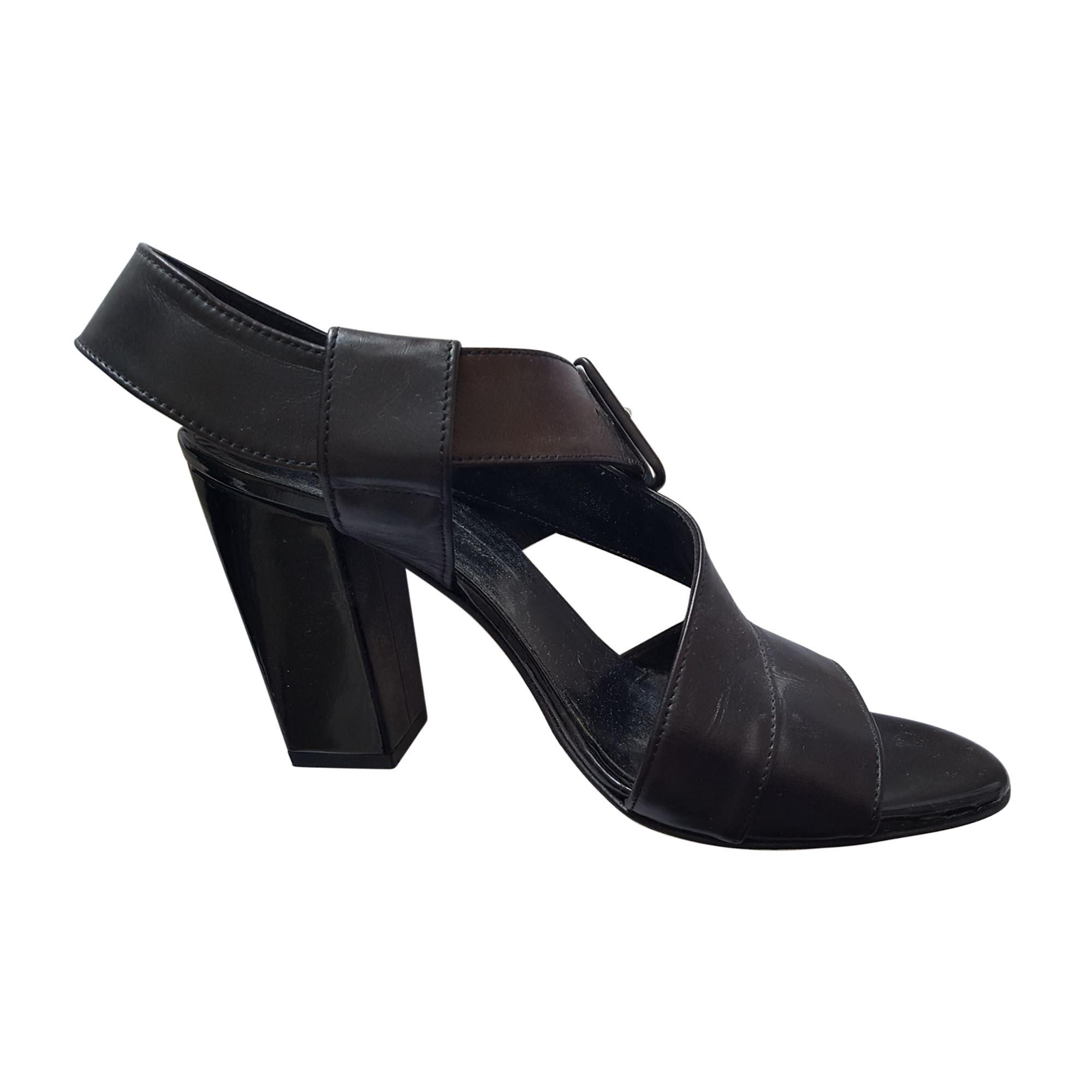 Sandales à talons ROBERT CLERGERIE Marron