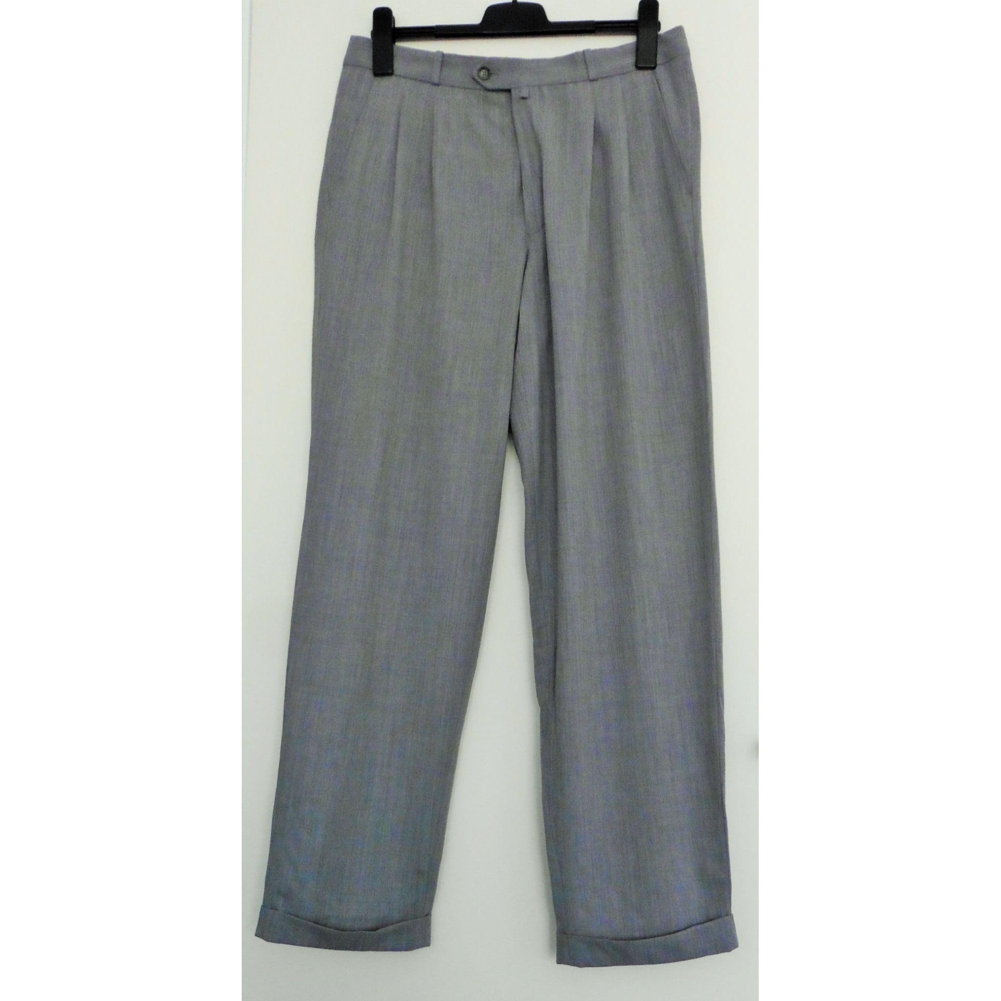 Pantalon droit BRICE Gris, anthracite
