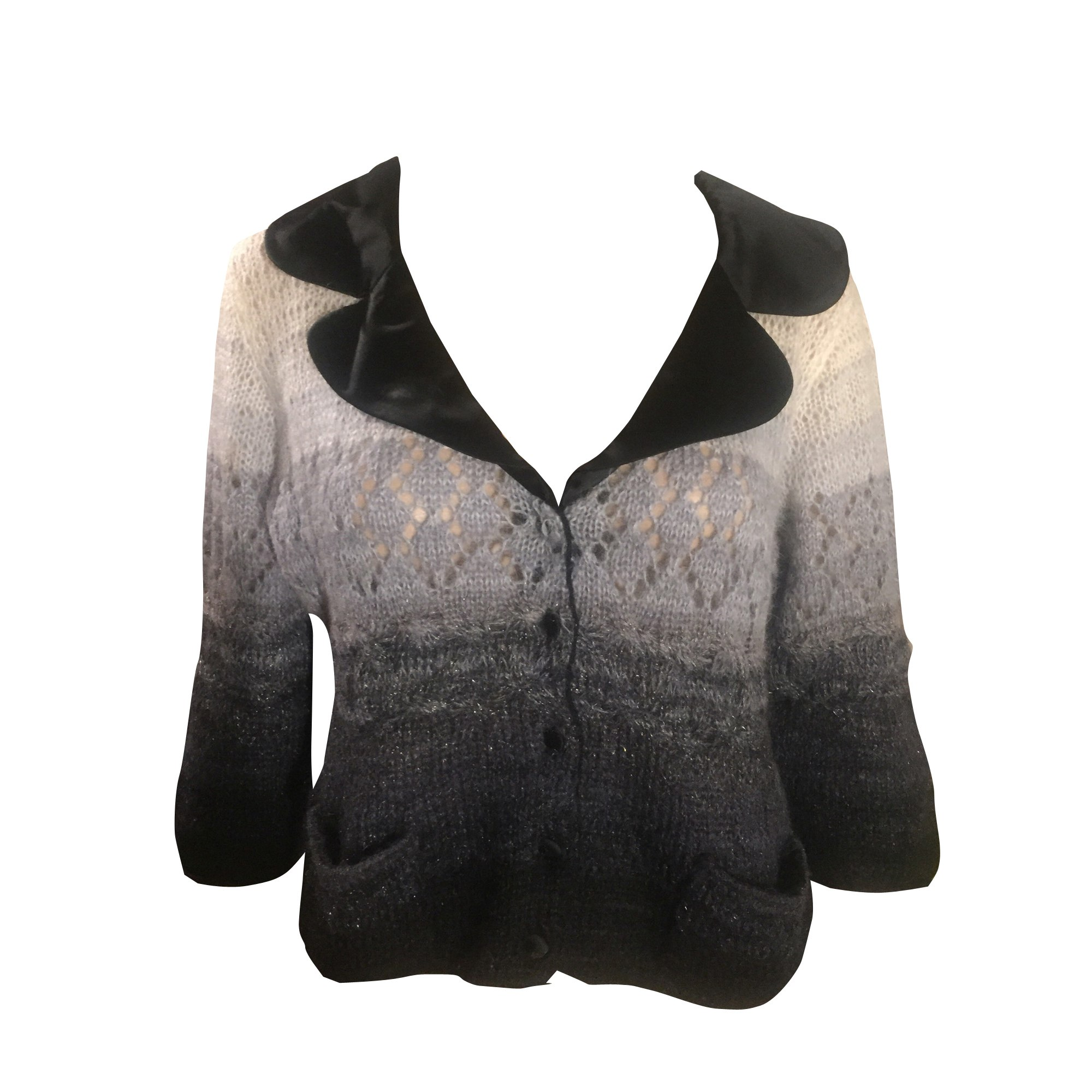 Blouse MOSCHINO Gris, anthracite