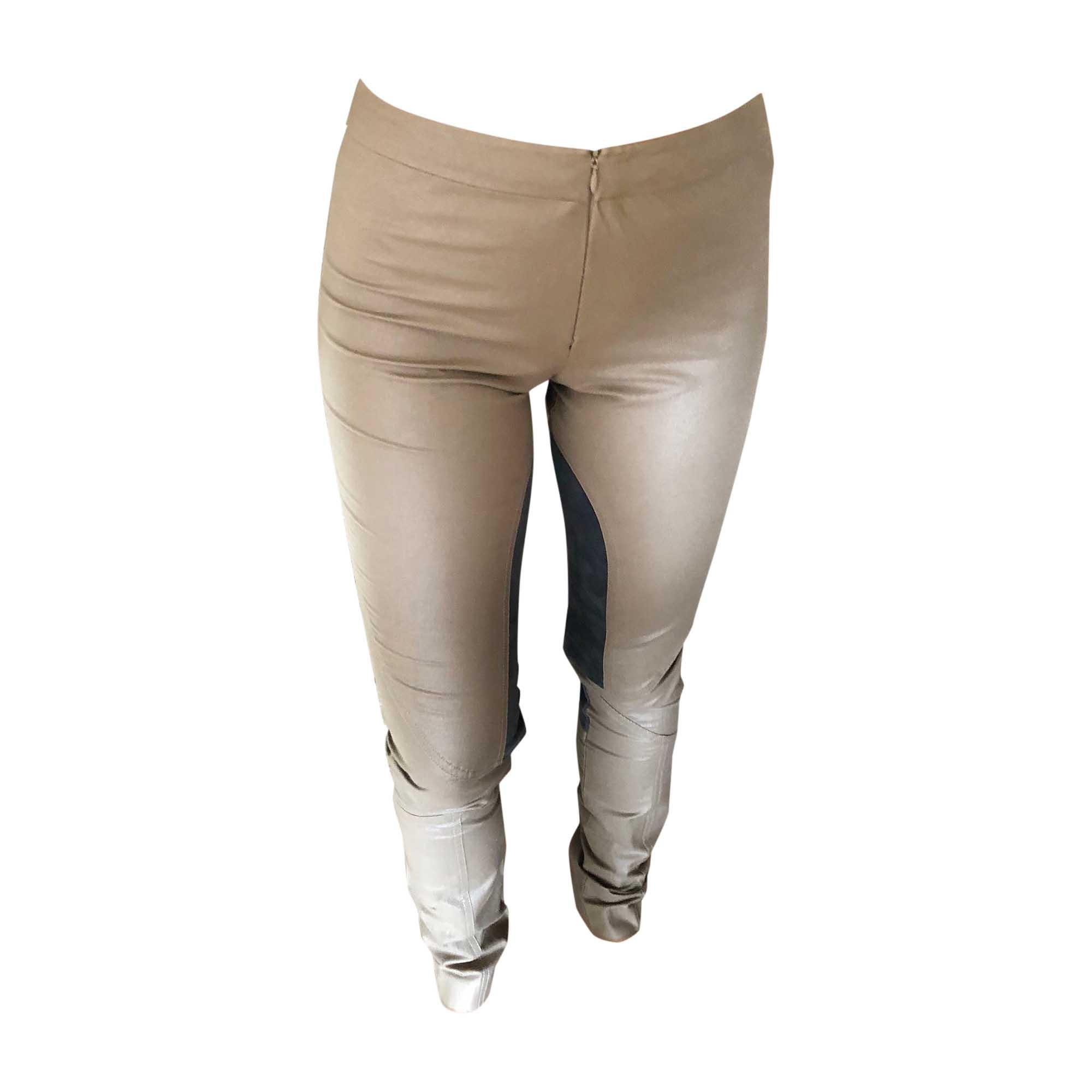 Pantalon slim, cigarette MARLENE BIRGER Beige, camel