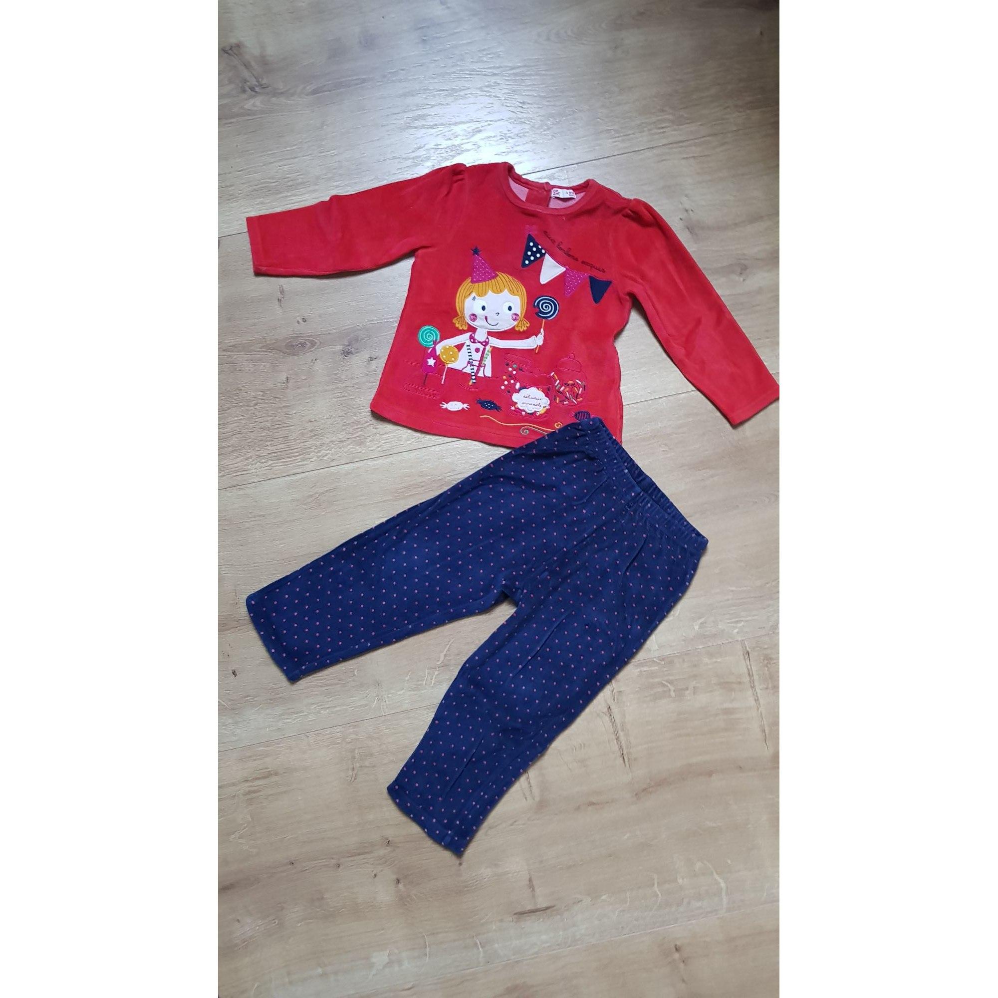 Pyjama DU PAREIL AU MÊME DPAM Rouge, bordeaux