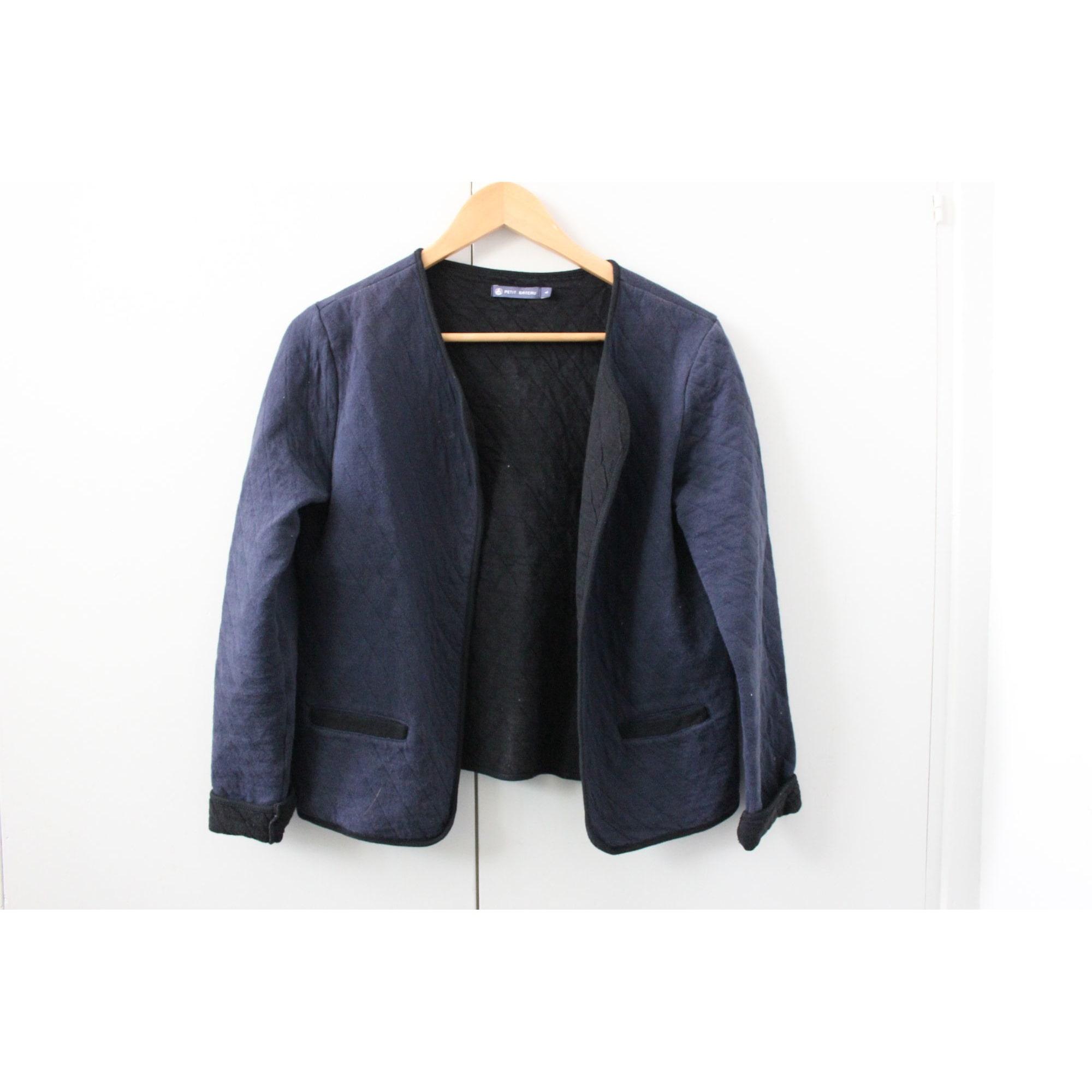 Gilet, cardigan PETIT BATEAU Bleu, bleu marine, bleu turquoise