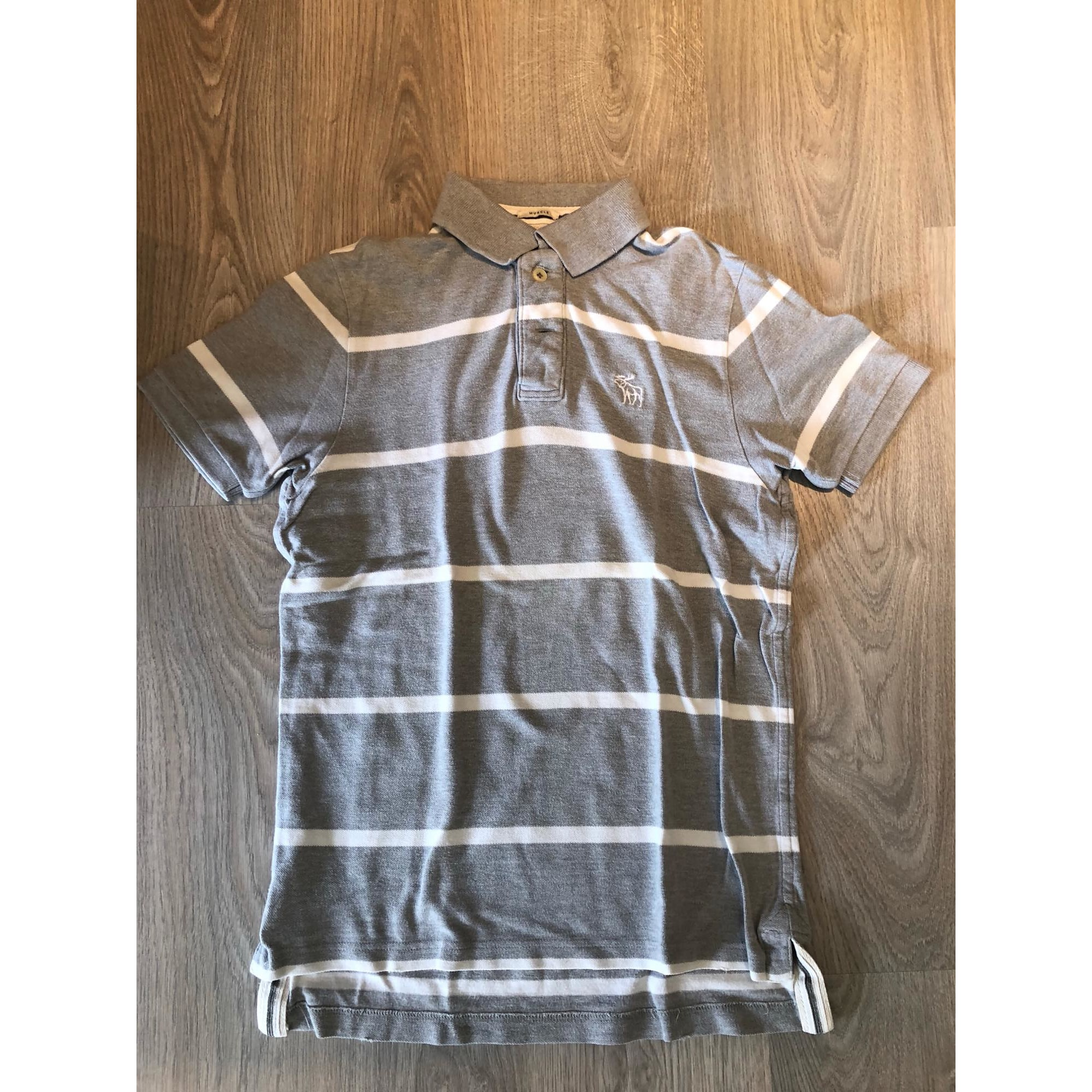 Polo ABERCROMBIE & FITCH Gris, anthracite