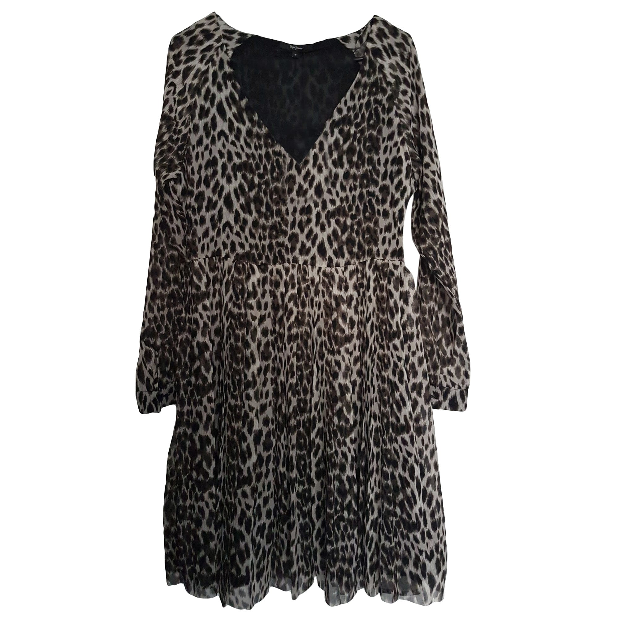 Robe Courte Pepe Jeans 38 M T2 Imprimes Animaliers 8068266