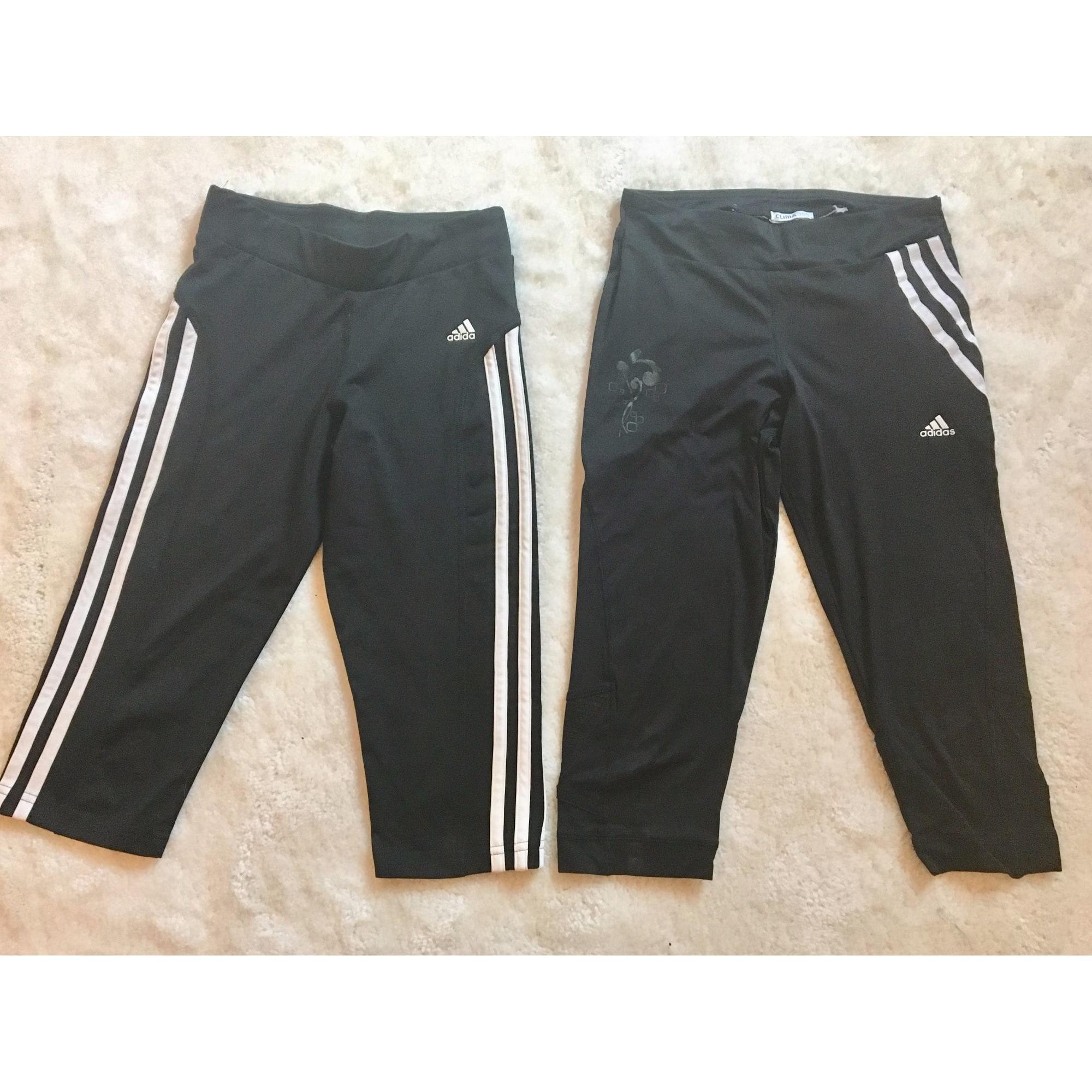 Pantalon en lycra ADIDAS Noir