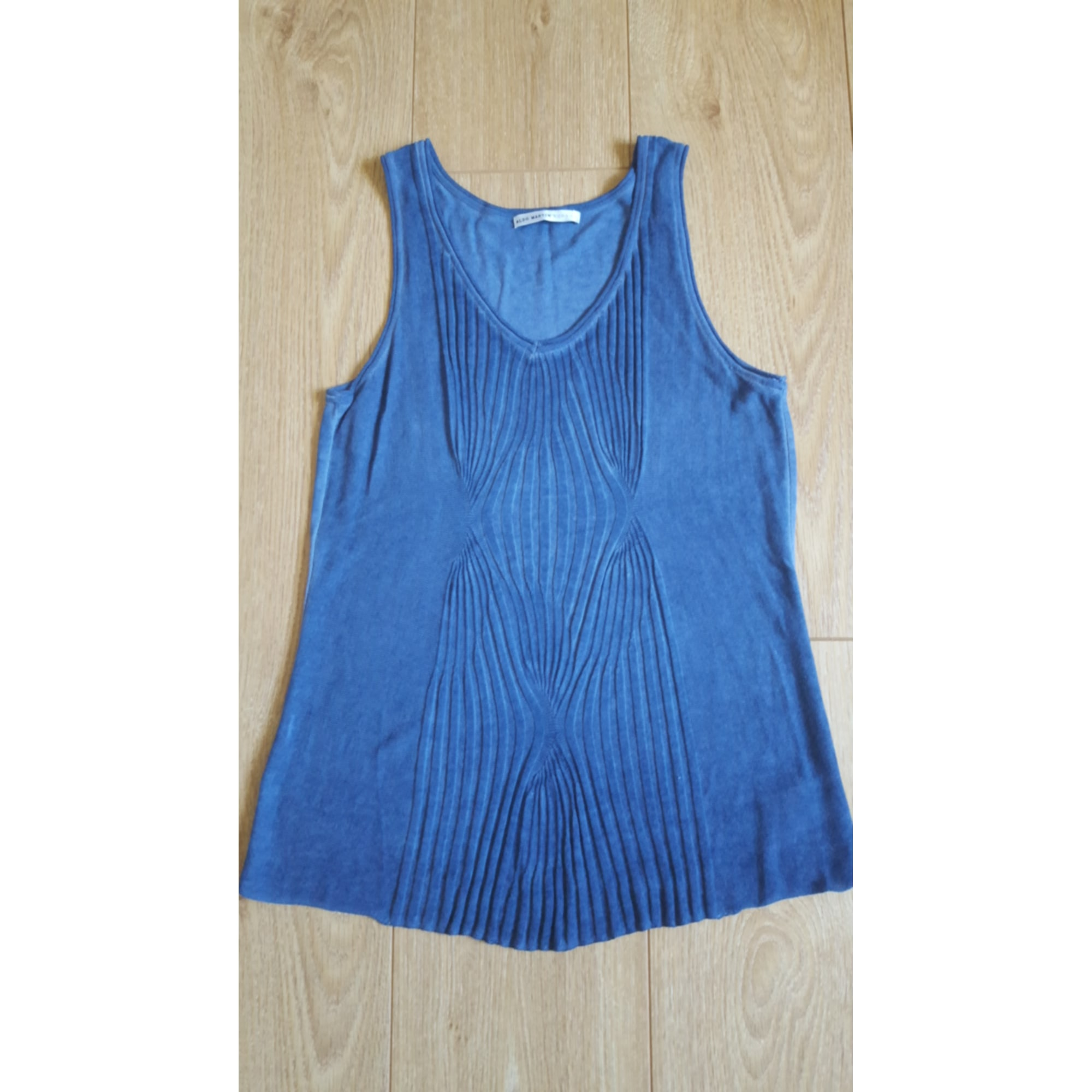 Débardeur ALDO MARTIN'S Bleu, bleu marine, bleu turquoise