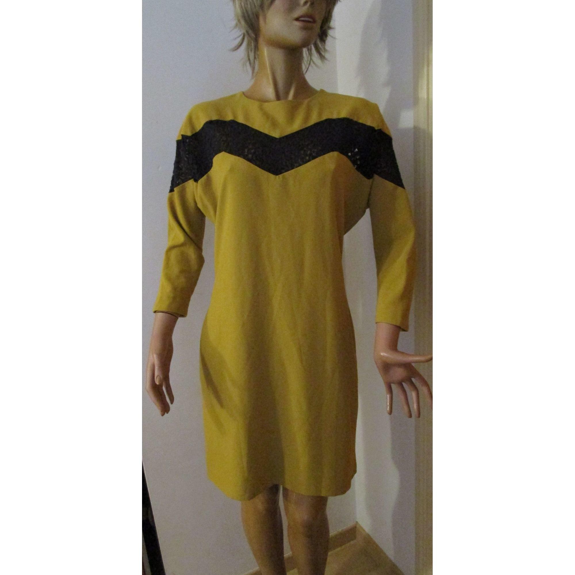 Robe courte SASSIA Jaune