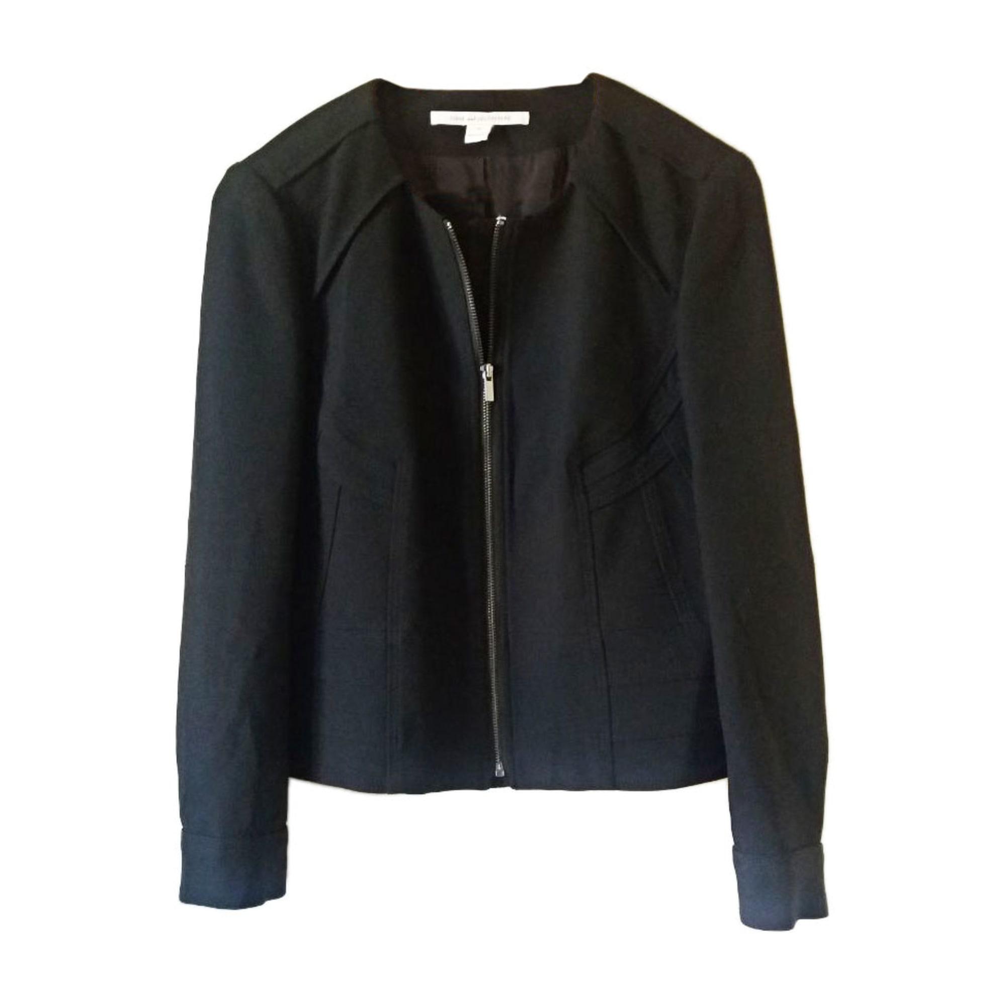 Blazer, veste tailleur DIANE VON FURSTENBERG Noir