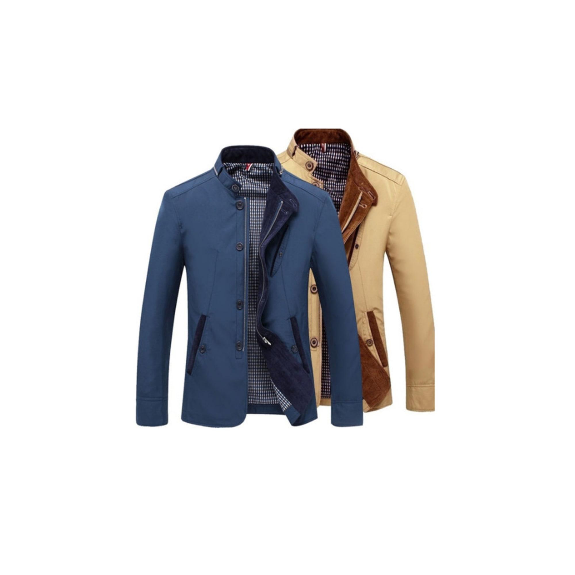 Veste CATCHYMARKET Bleu, bleu marine, bleu turquoise