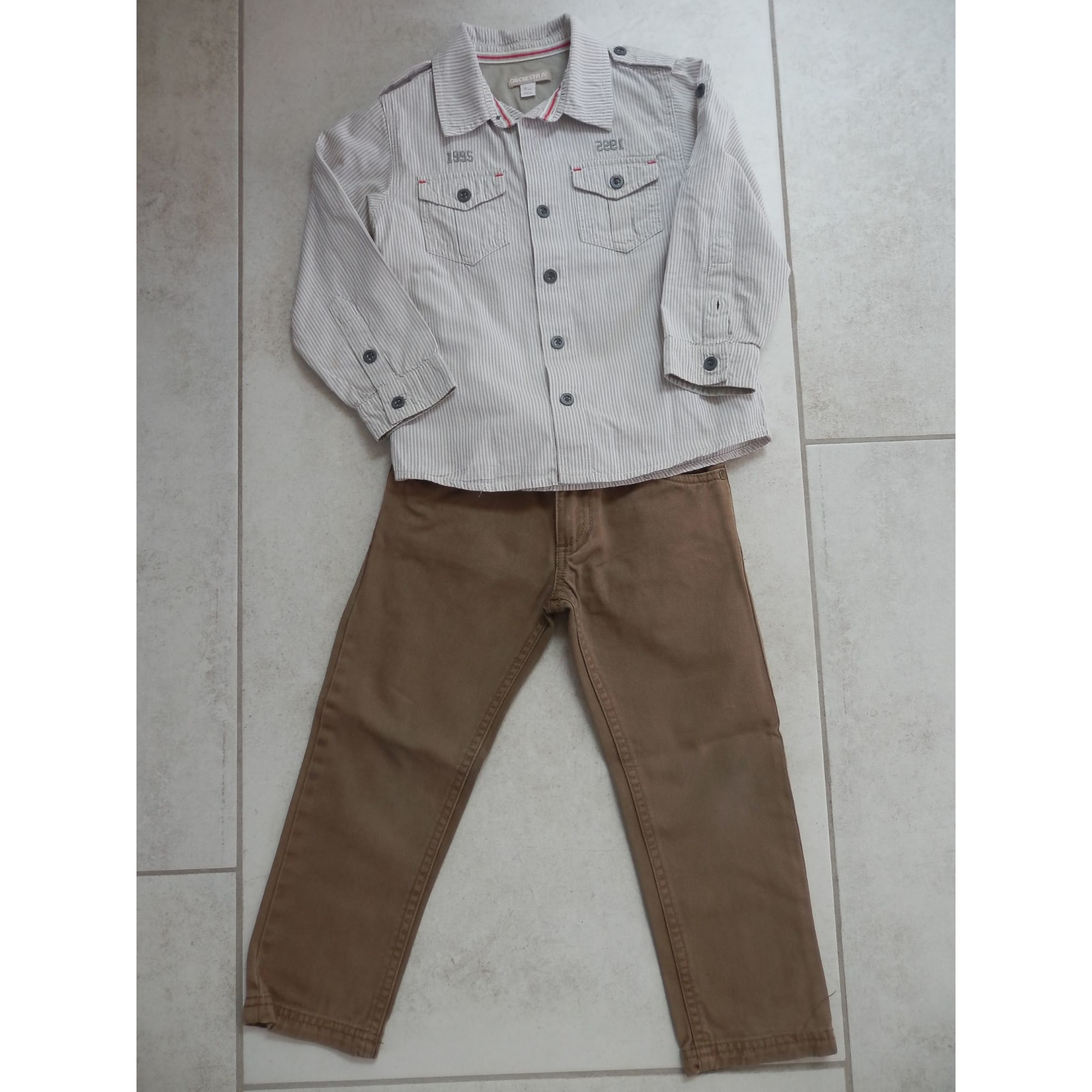 Pants Set, Outfit ORCHESTRA Brown