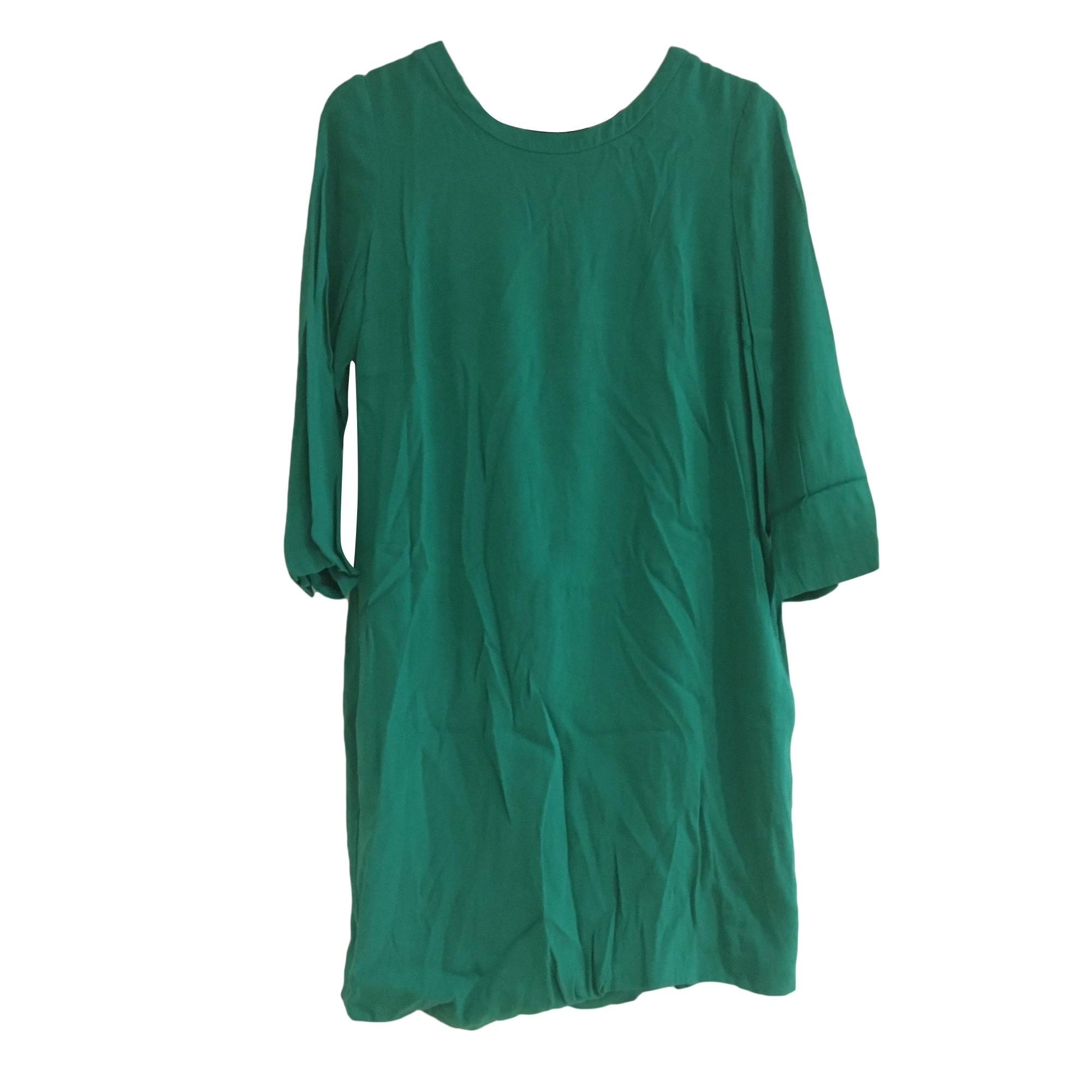 Robe courte SANDRO Vert