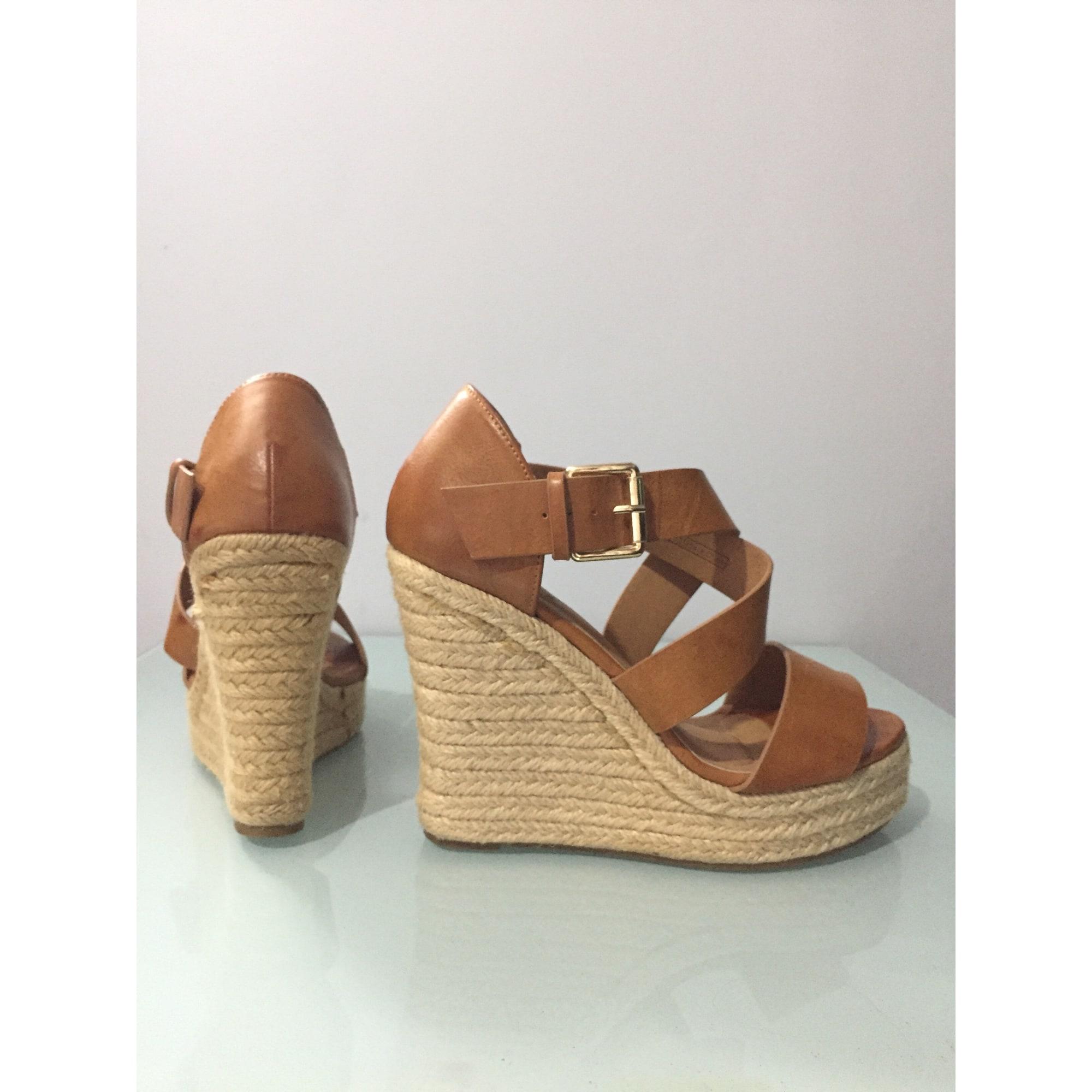 Sandales Compensées Pimkie 36 Beige 8095212