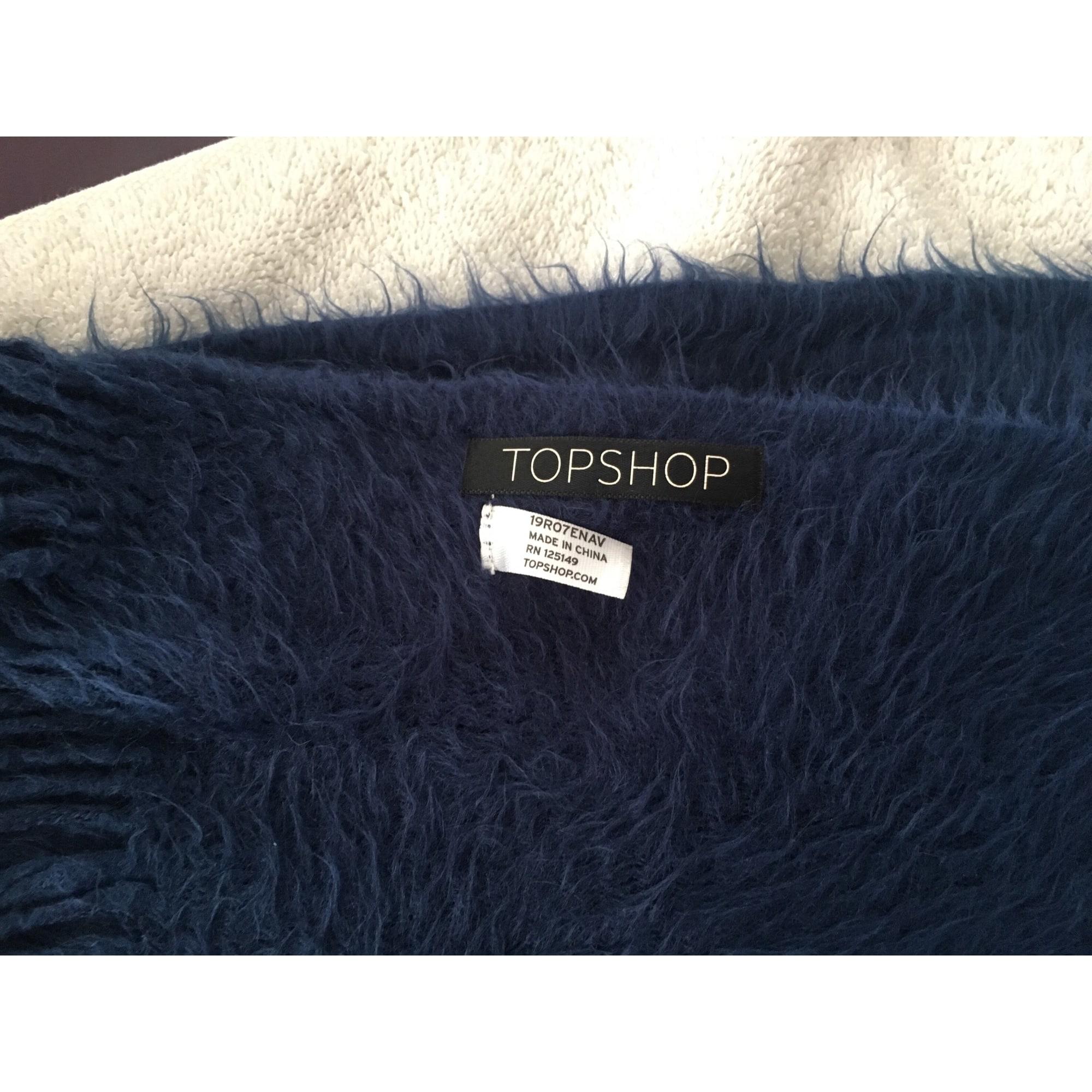 Echarpe TOPSHOP Bleu, bleu marine, bleu turquoise