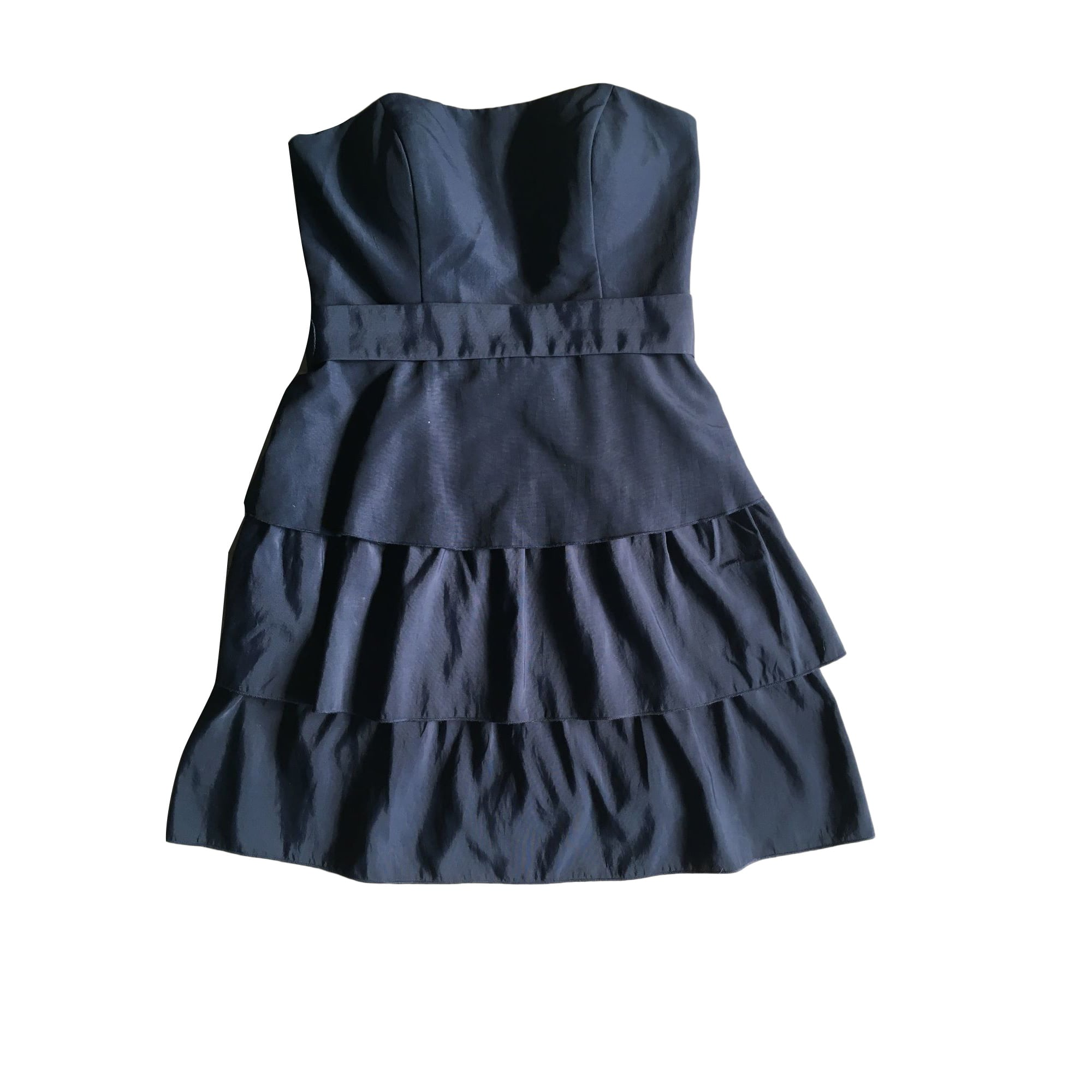 Robe bustier MAJE Bleu, bleu marine, bleu turquoise