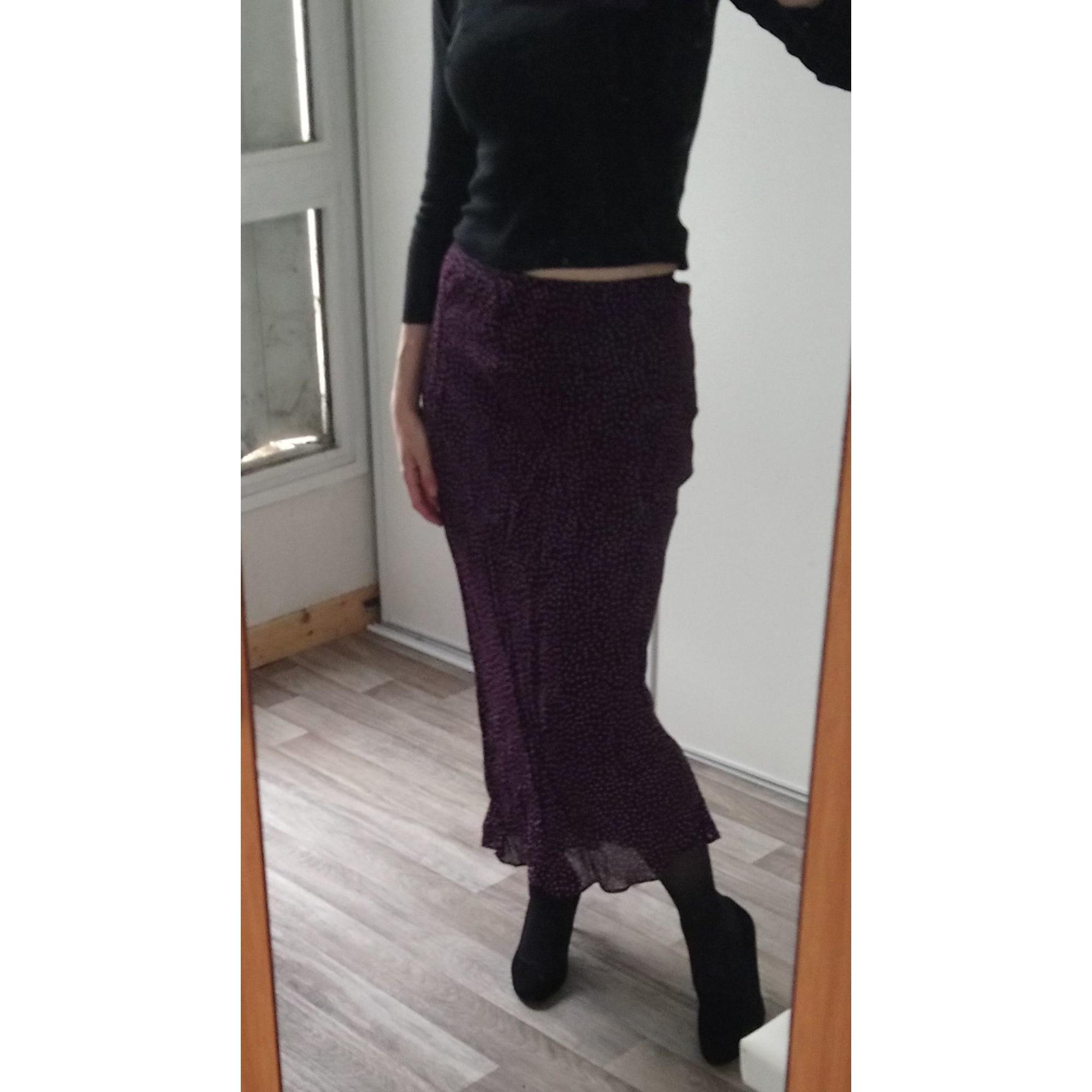 Jupe longue RENATTO BENE Violet, mauve, lavande